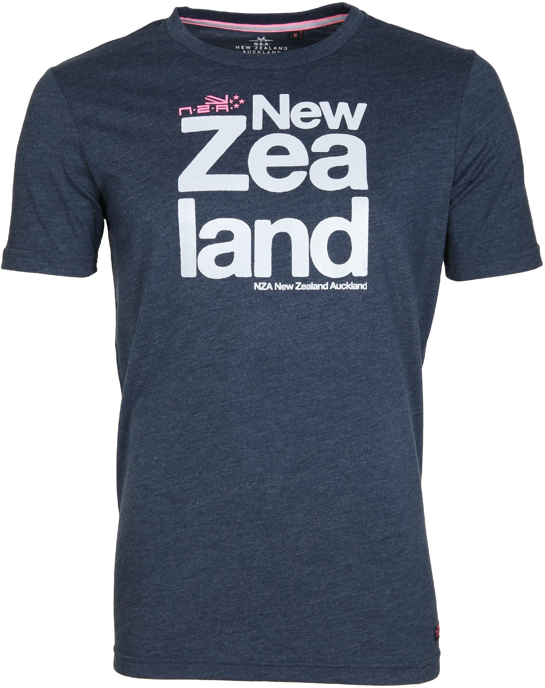 NZA Dampier T-shirt Dunkelblau foto 0