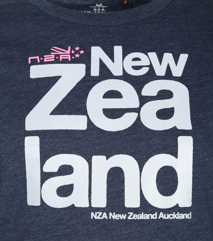 NZA Dampier T-shirt Dunkelblau foto 1