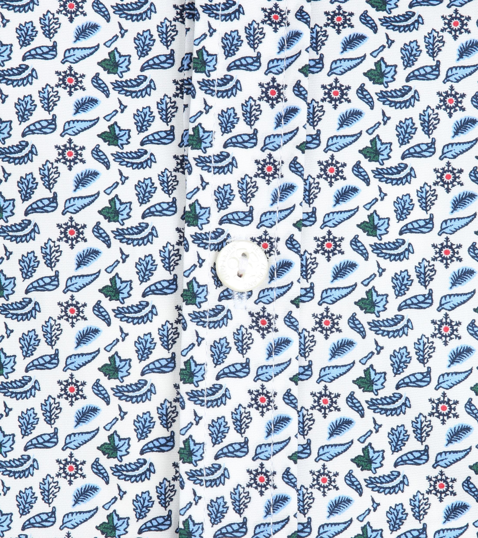 NZA Freizeithemd Hamilton Blau foto 3