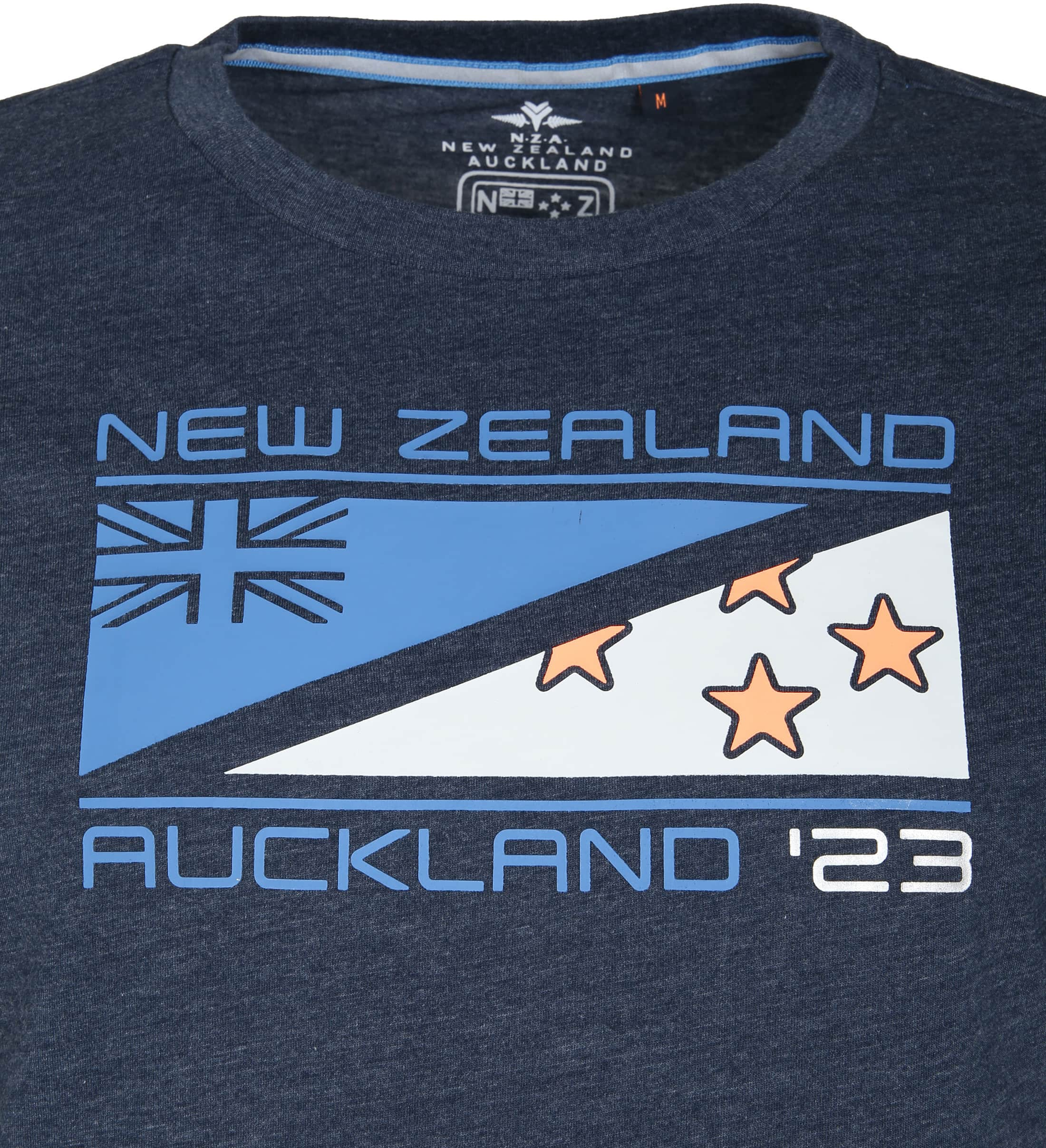 NZA Hapuka T-shirt Dunkelblau foto 1