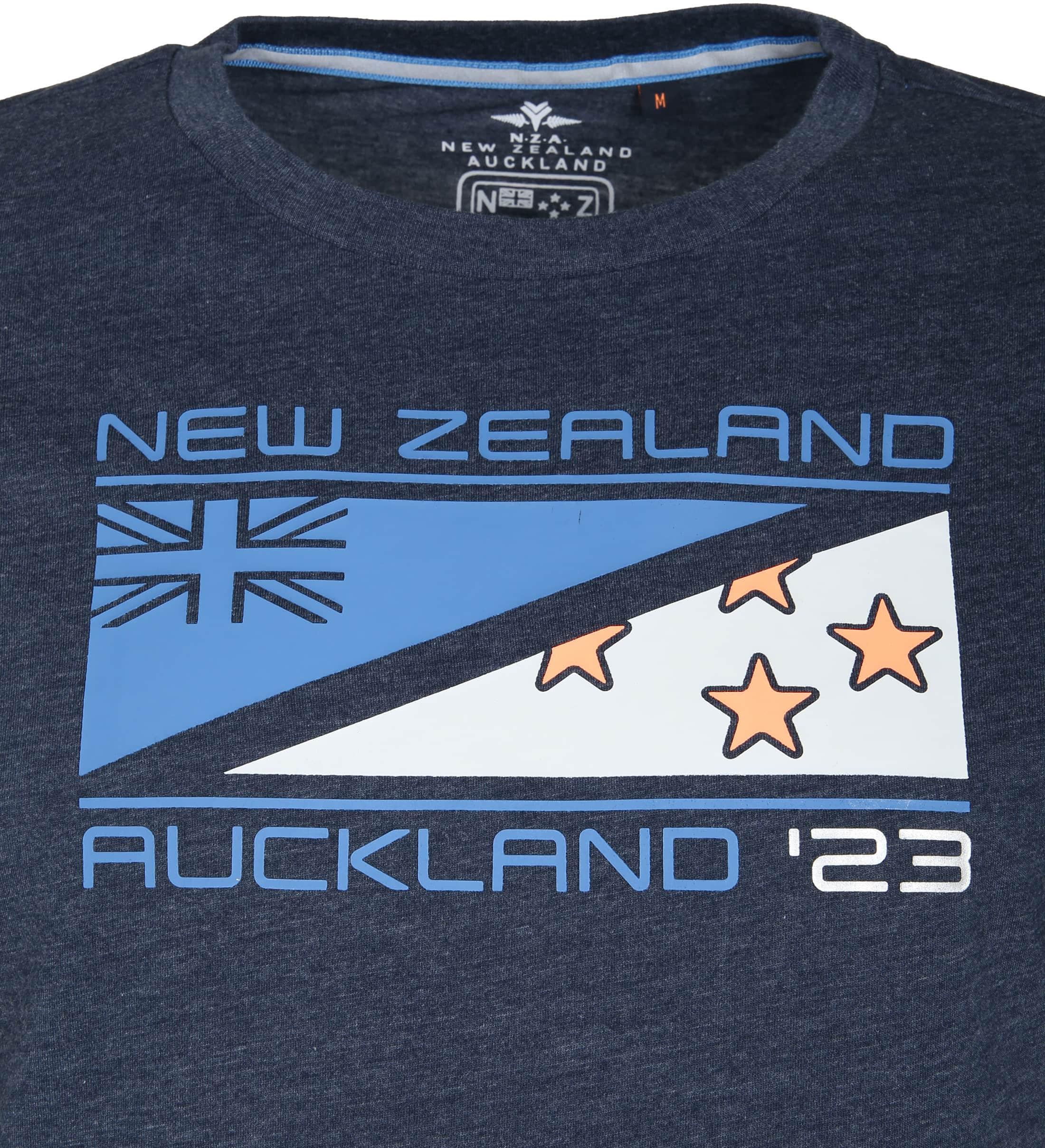 NZA Hapuka T-shirt Navy foto 1