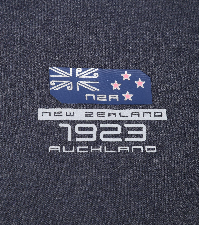 NZA Kakepuku Poloshirt Navy foto 2