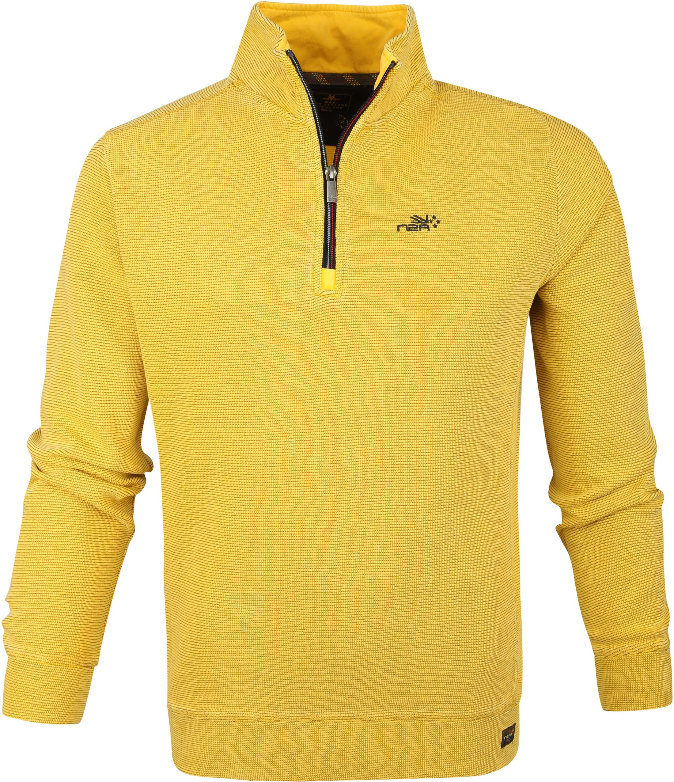 NZA Mangawhai Half Zip Sweater Gelb