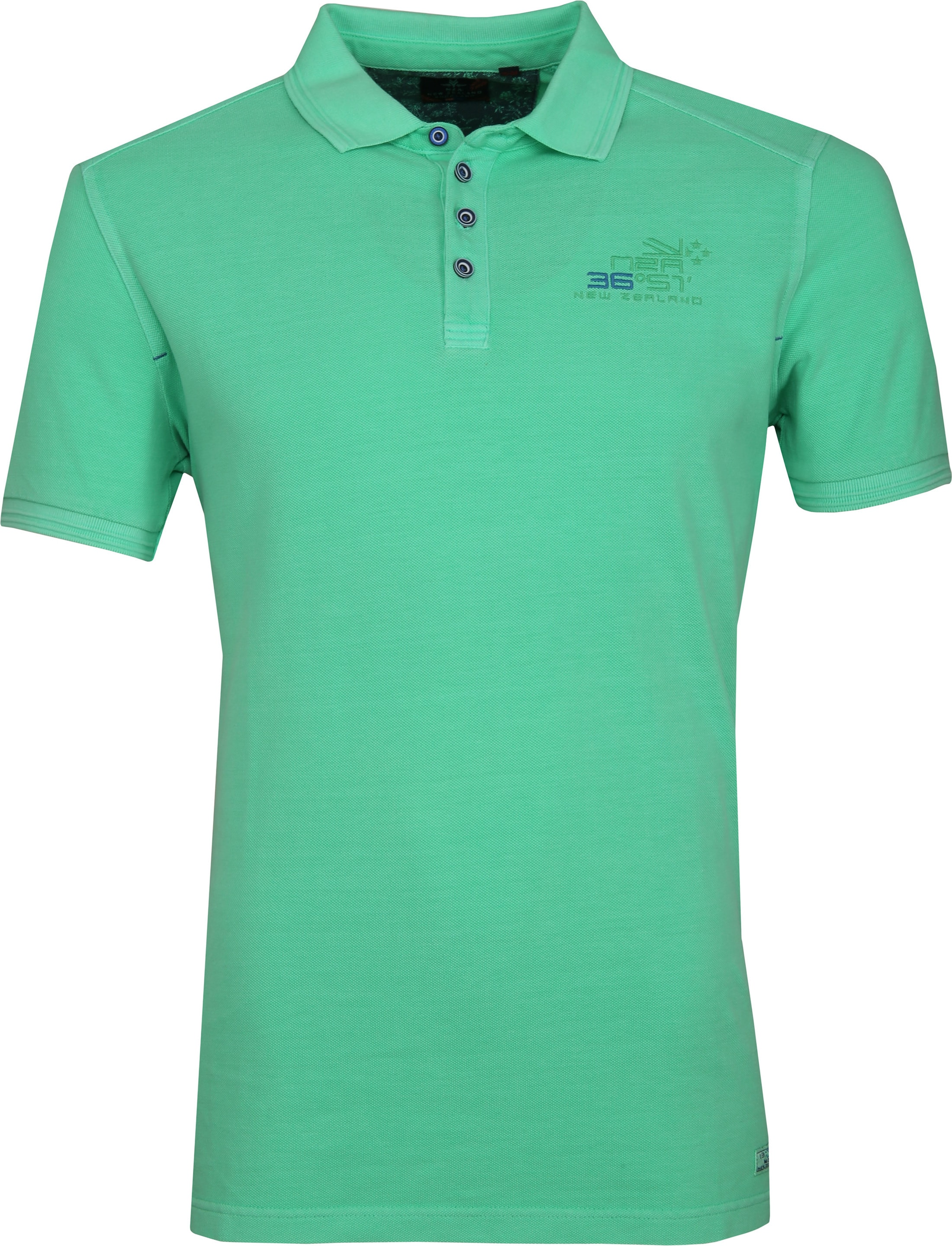 NZA Oakura Poloshirt Neon Groen foto 0