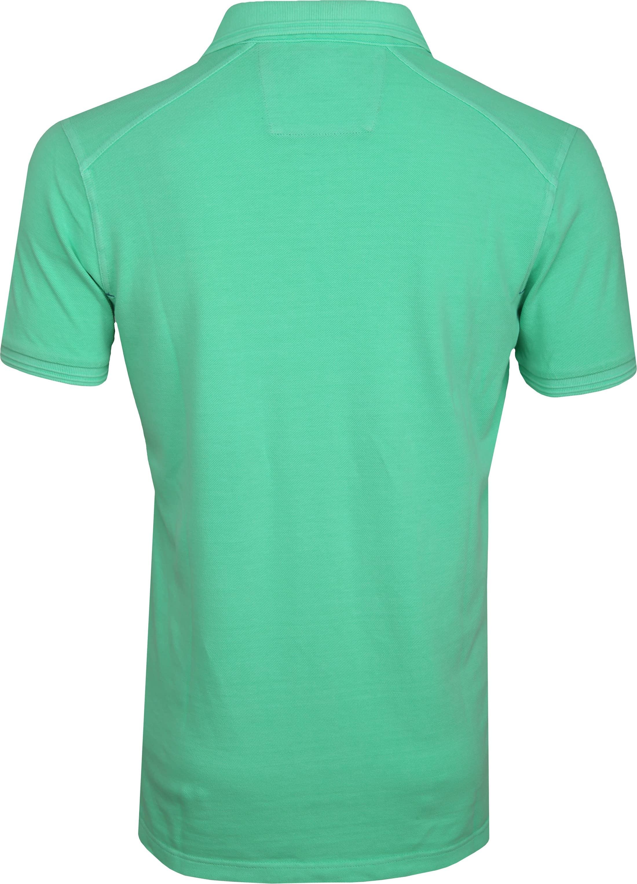 NZA Oakura Poloshirt Neon Groen foto 3