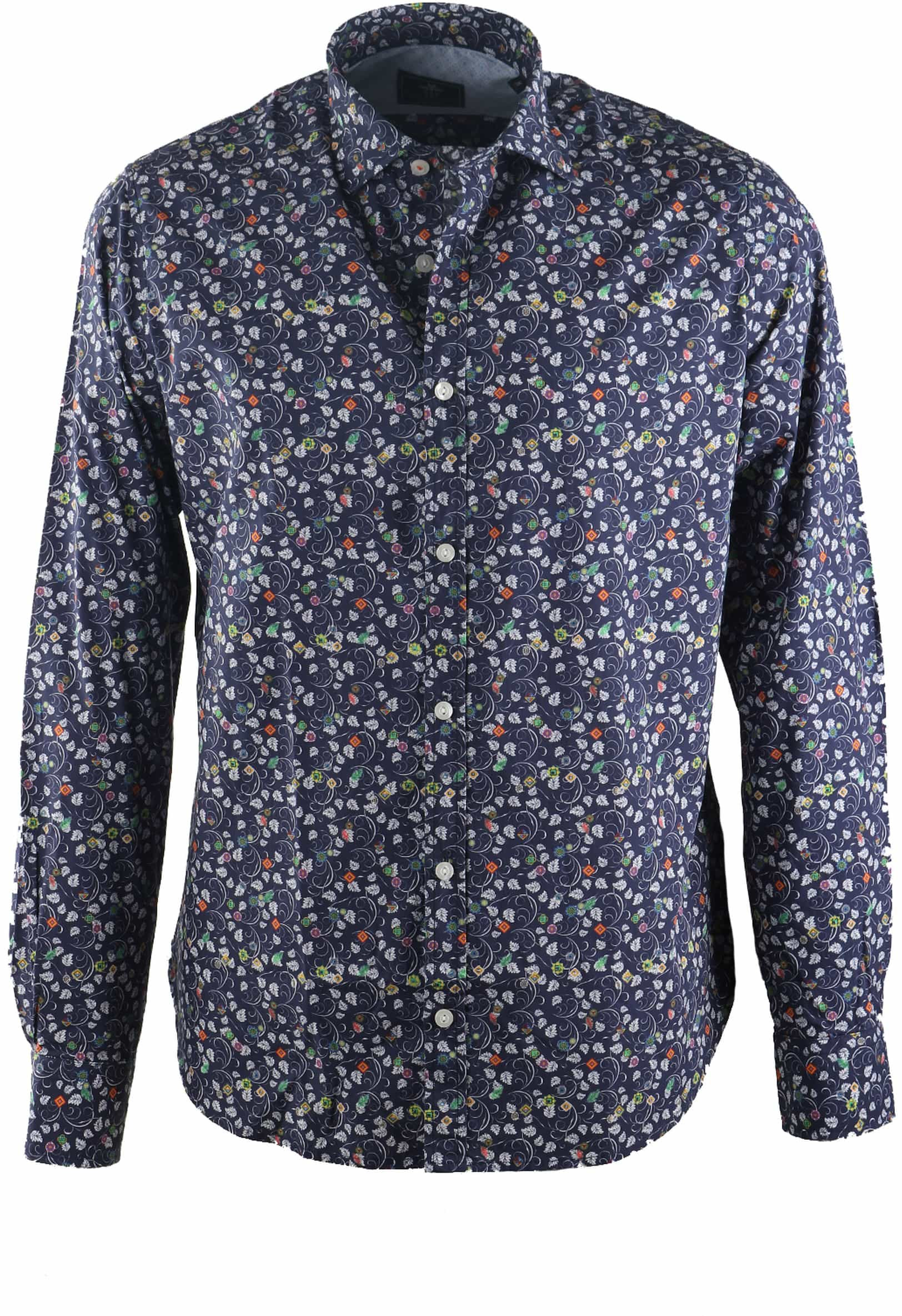 NZA Overhemd Donkerblauw 17AN509 foto 0