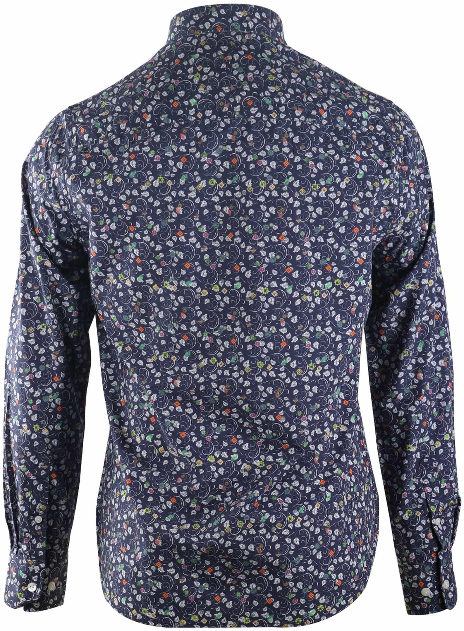 Overhemd Online Hohonu Eastern 17an509 Donkerblauw Nza X80OnkwP
