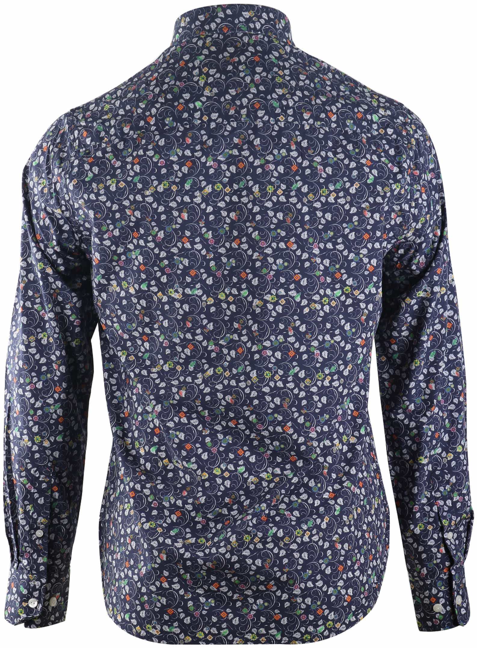 NZA Overhemd Donkerblauw 17AN509 foto 1