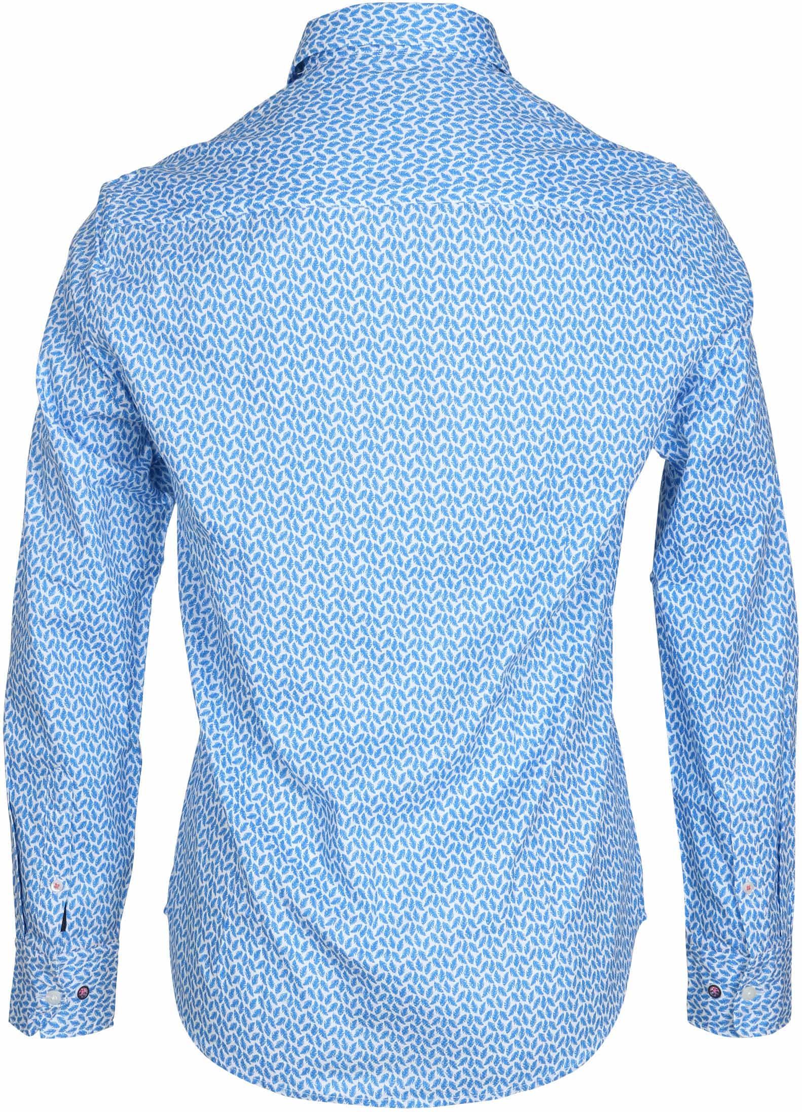 NZA Overhemd Jasper Blauw Print foto 2