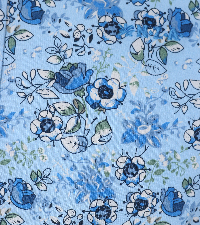 NZA Overhemd Kairaki Blauw Print foto 1