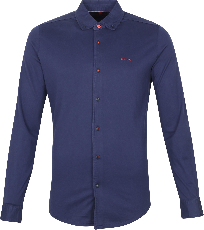 NZA Overhemd Pakuratahi Donkerblauw