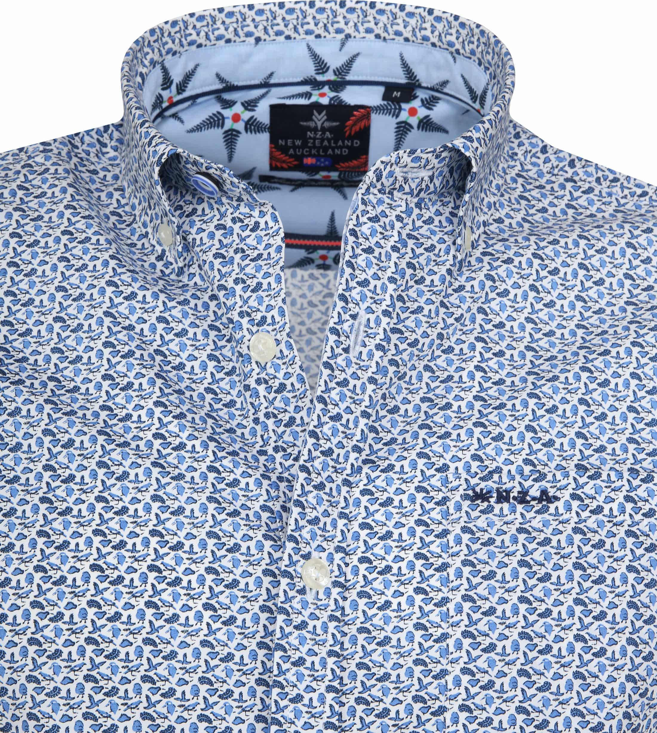 NZA Overhemd Shortsleeve Paparoa foto 1