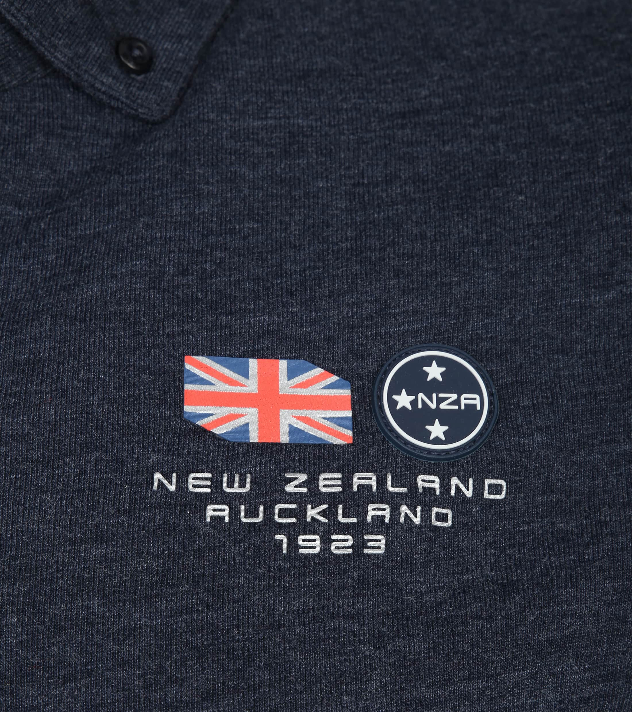 NZA Polo LS Marchant Navy foto 2