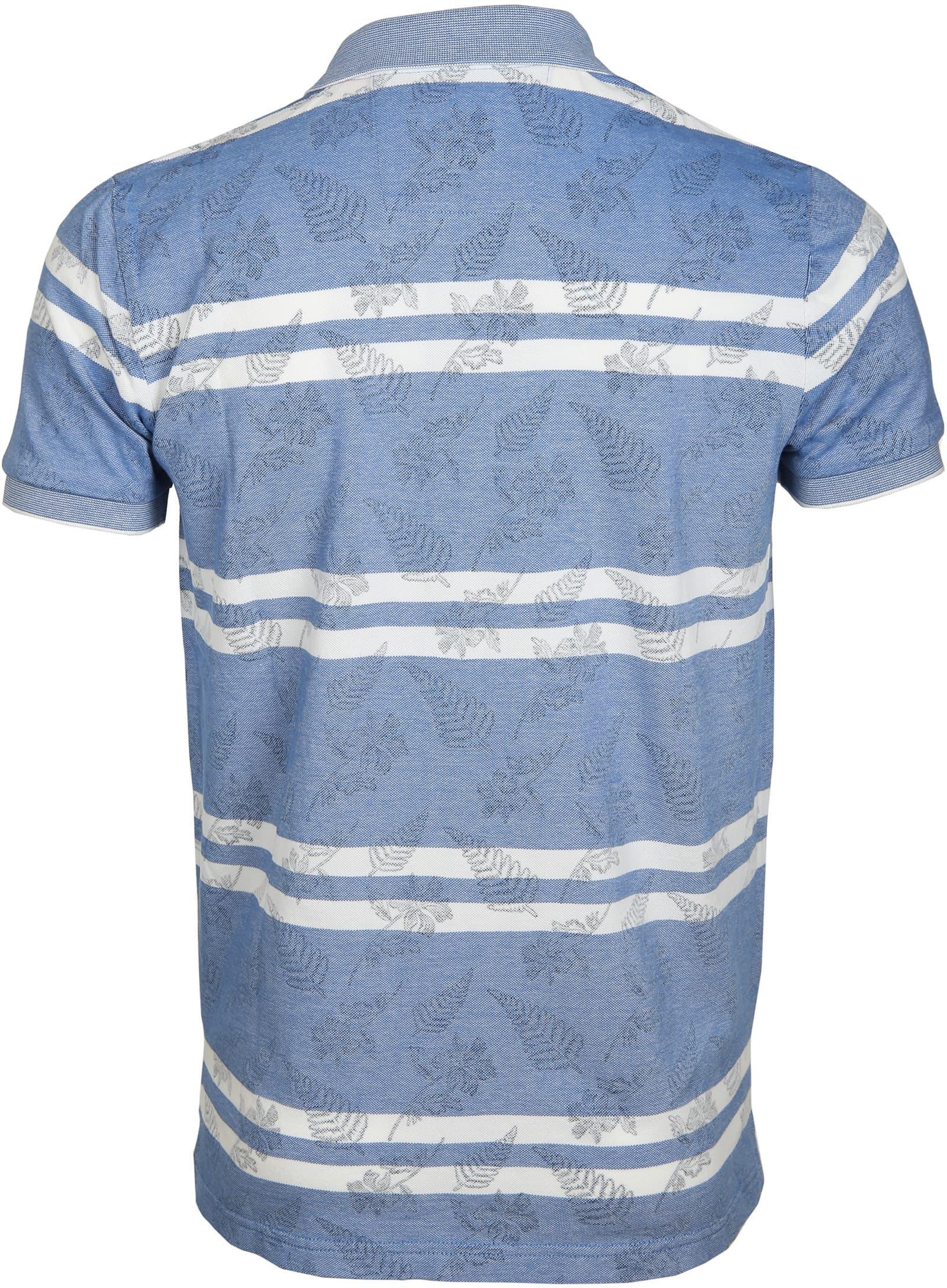 NZA Poloshirt Karamea Blau foto 2