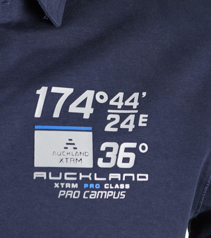 NZA Poloshirt Ruakaka Navy foto 3