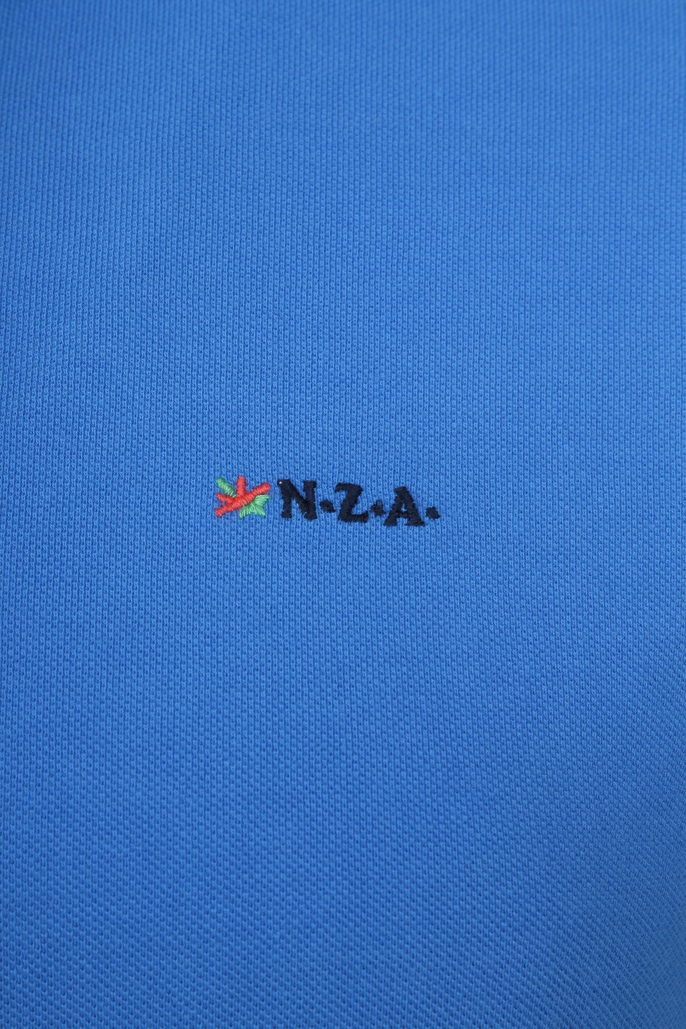 NZA Poloshirt Waiapu Blue foto 2