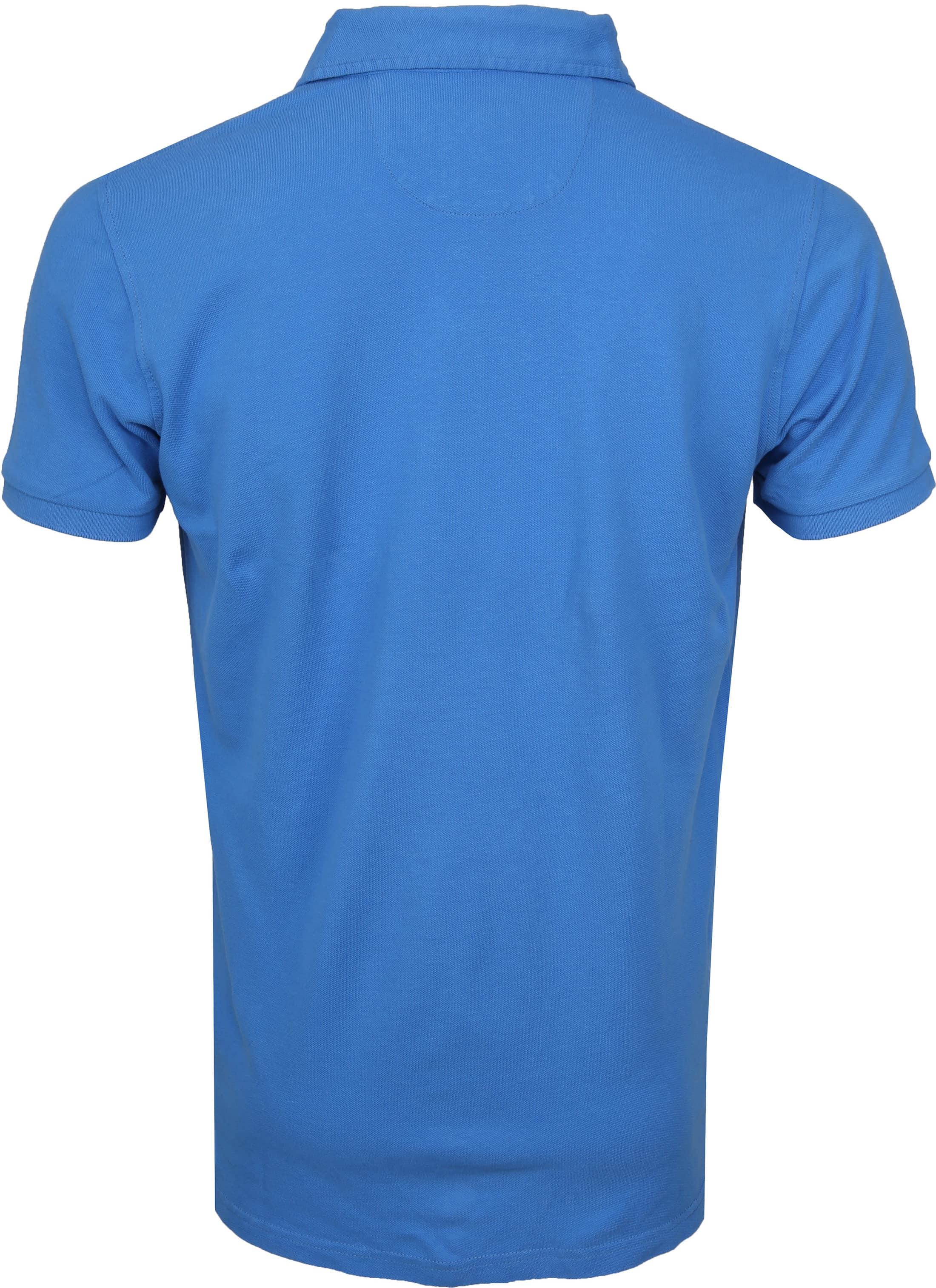 NZA Poloshirt Waiapu Blue foto 3
