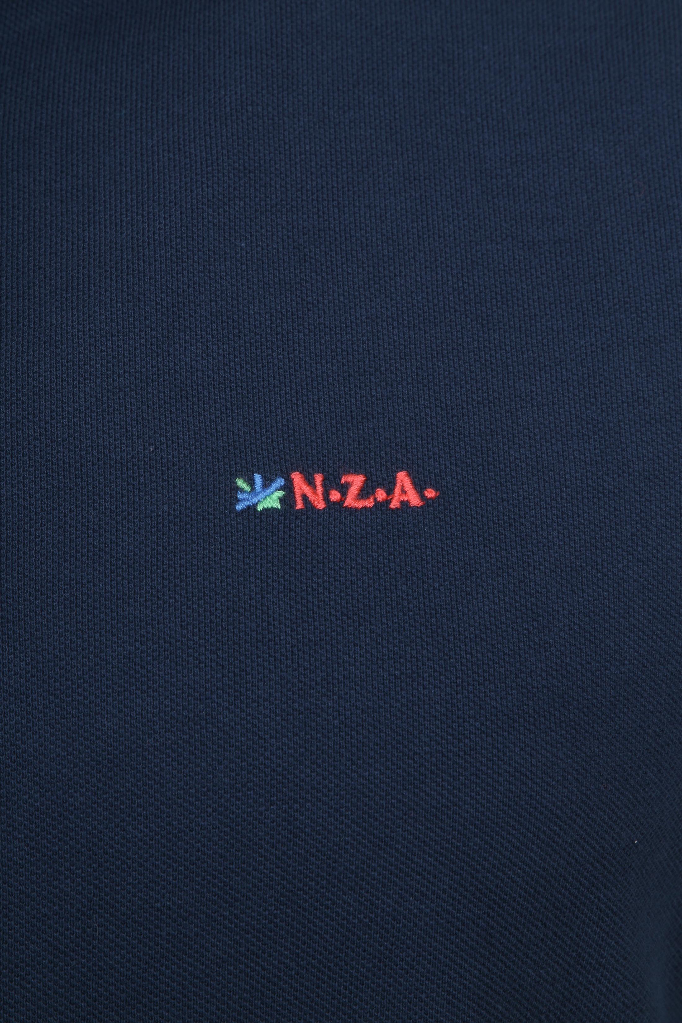 NZA Poloshirt Waiapu Navy foto 2