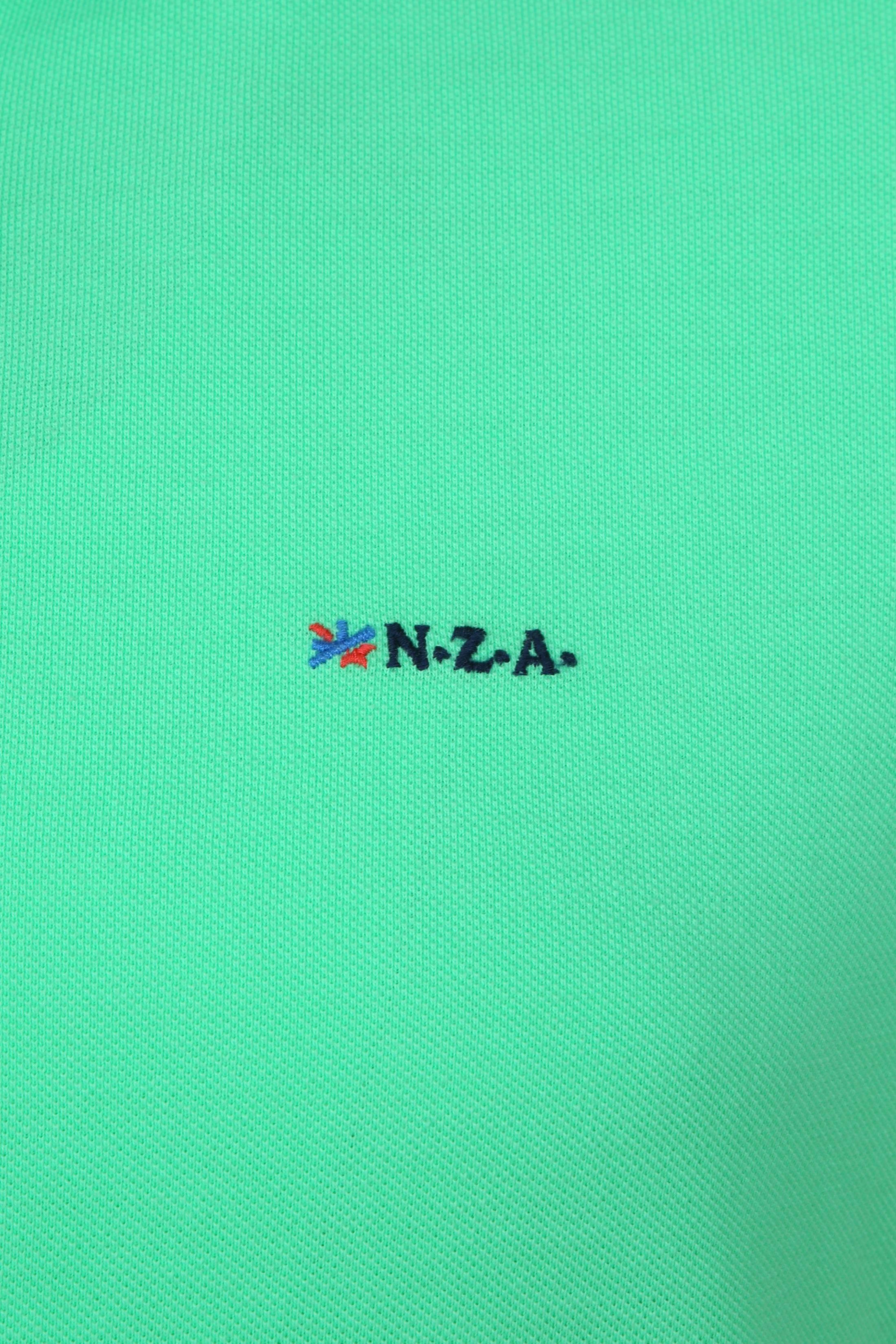 NZA Poloshirt Waiapu Neon Green foto 2