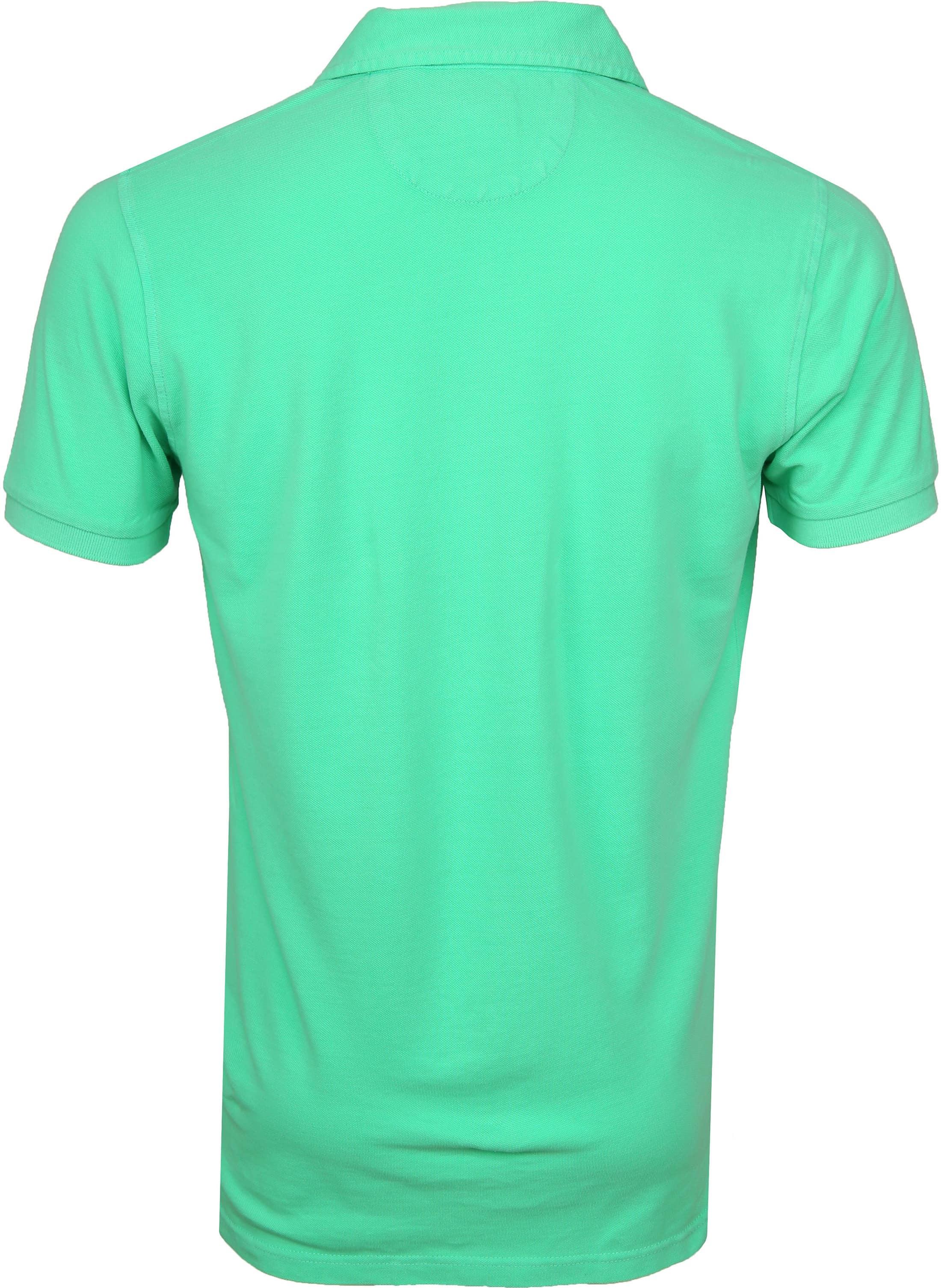 NZA Poloshirt Waiapu Neon Green foto 3