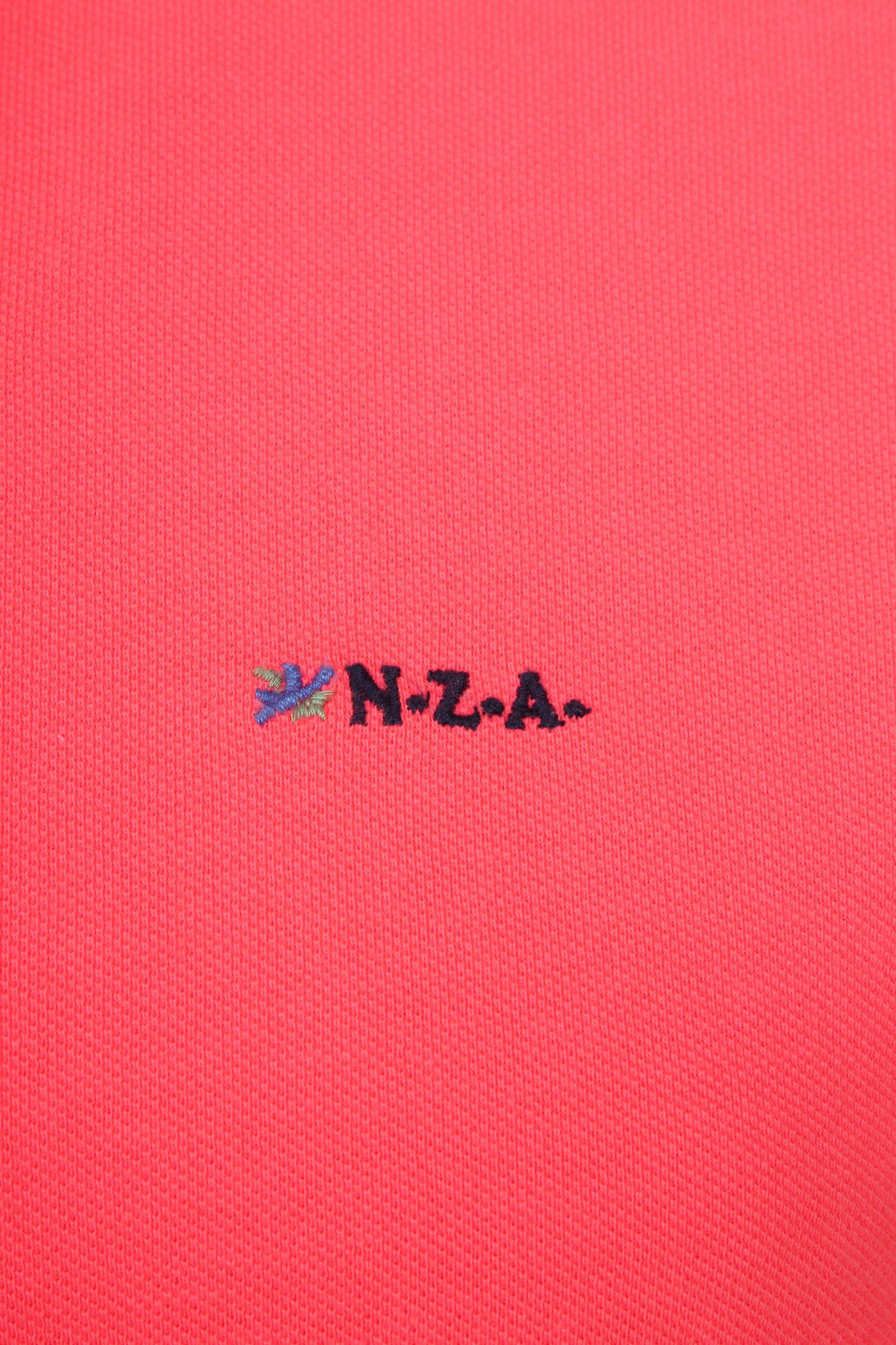 NZA Poloshirt Waiapu Neon Pink foto 2