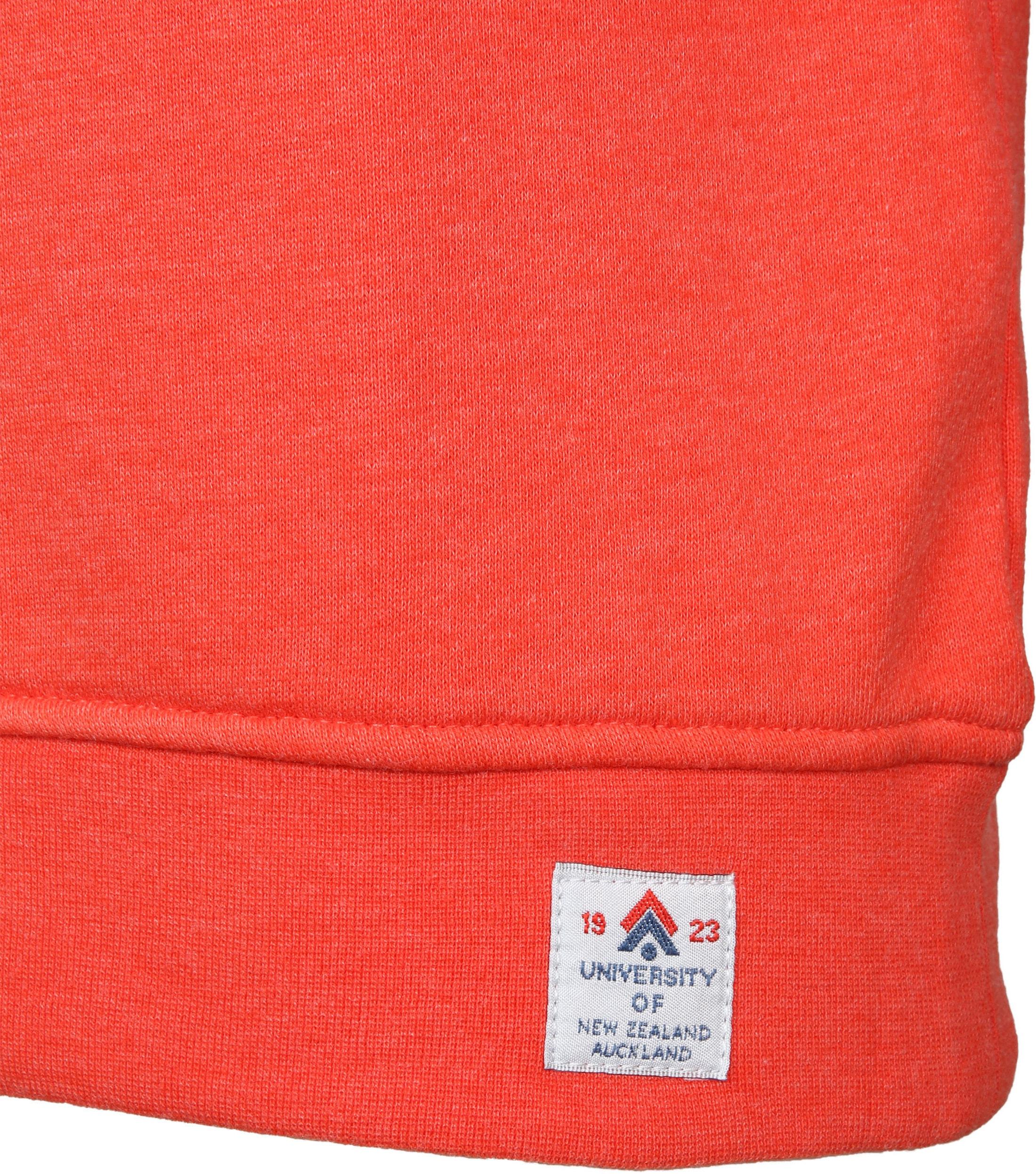 NZA Pullover Orange Logo foto 4