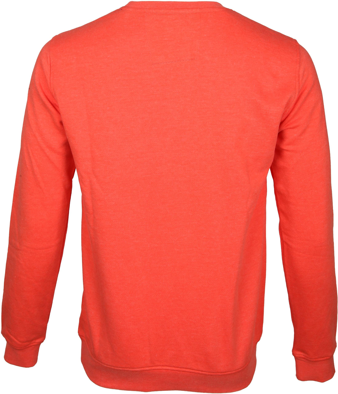 NZA Pullover Orange Logo foto 5