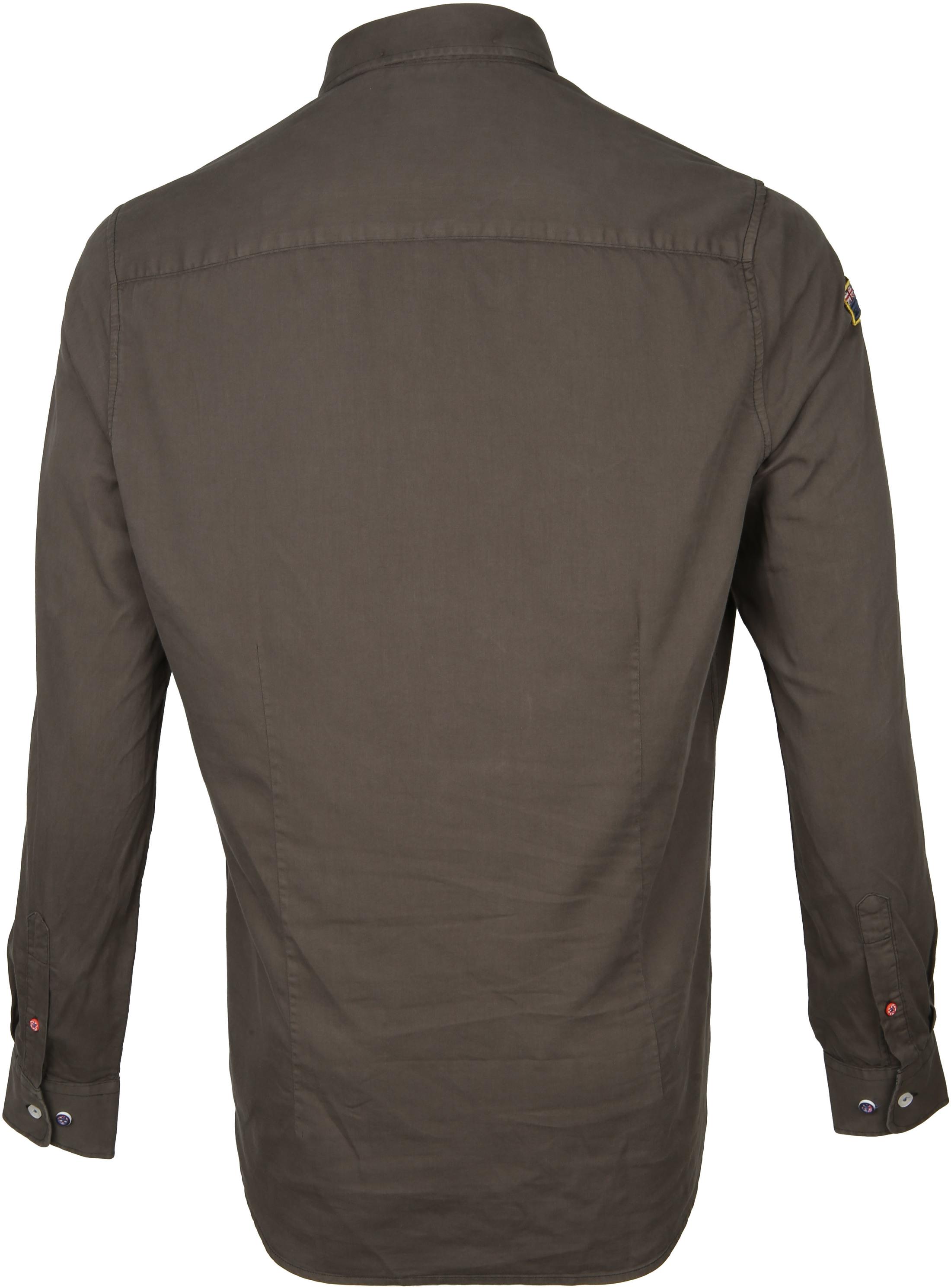 NZA Shirt Tapuaeroa Dark Green