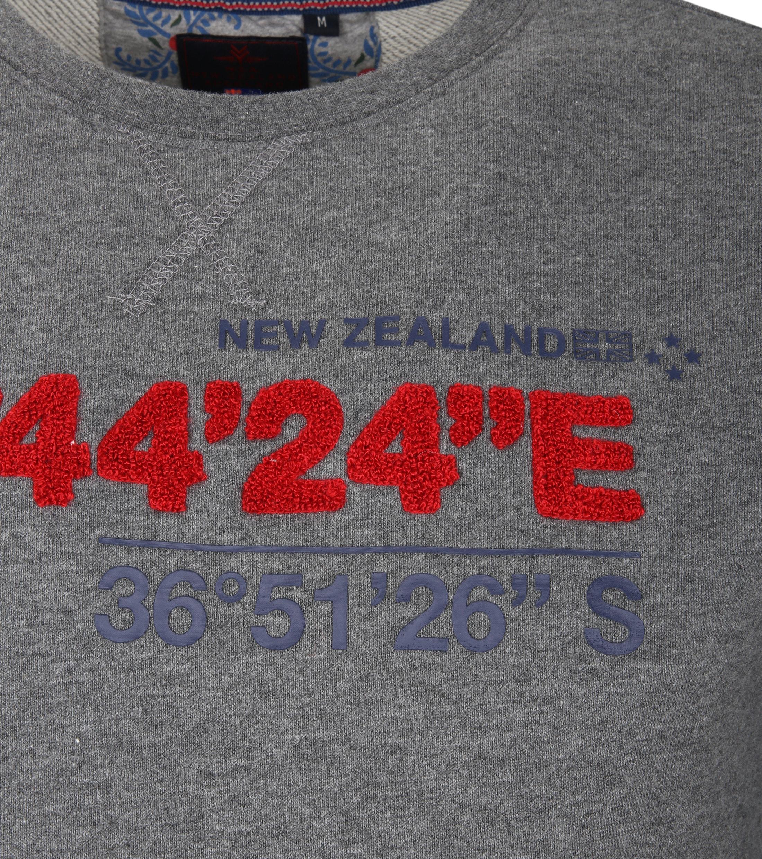 NZA Sweater Grijs Print foto 2