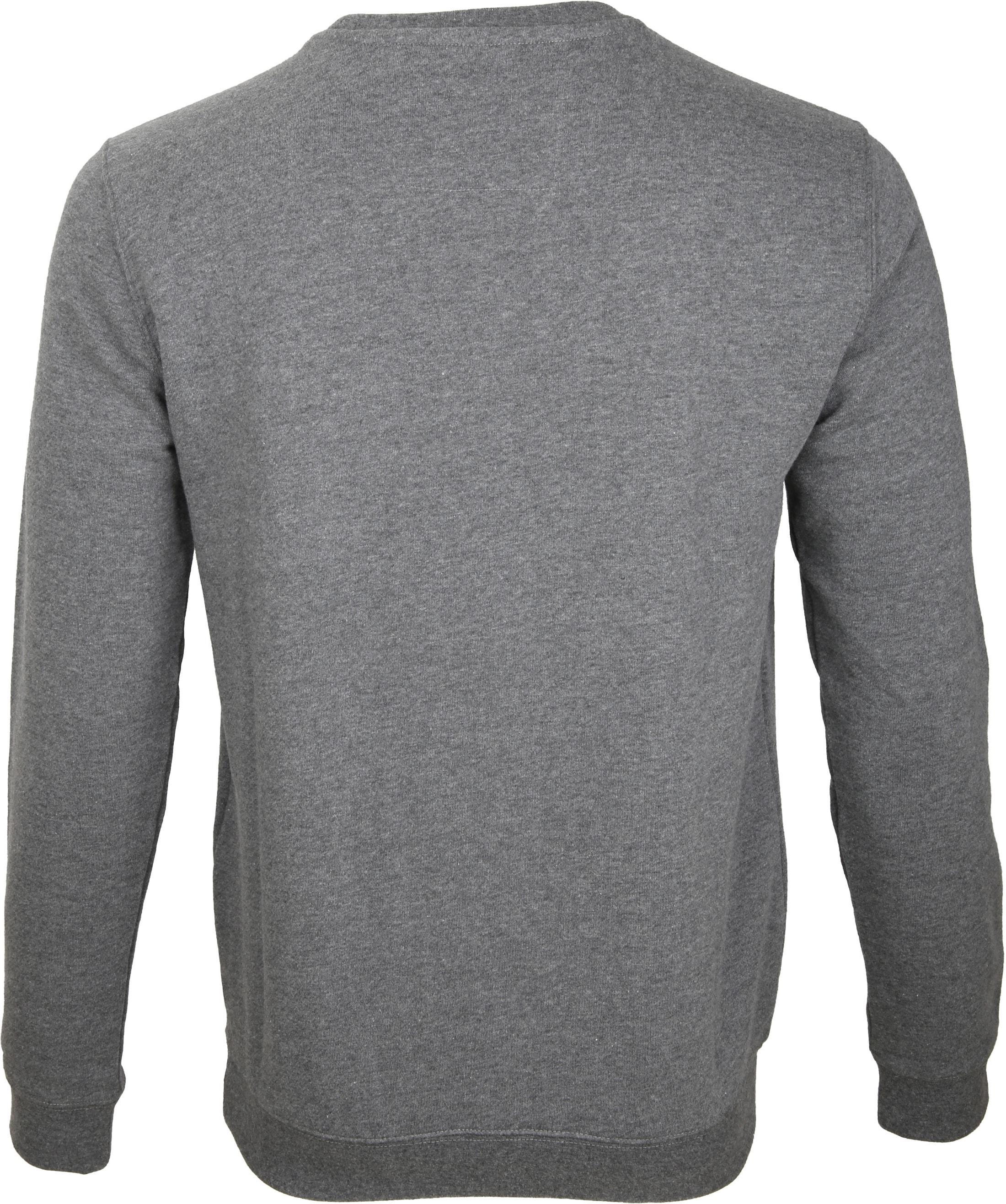 NZA Sweater Grijs Print foto 3
