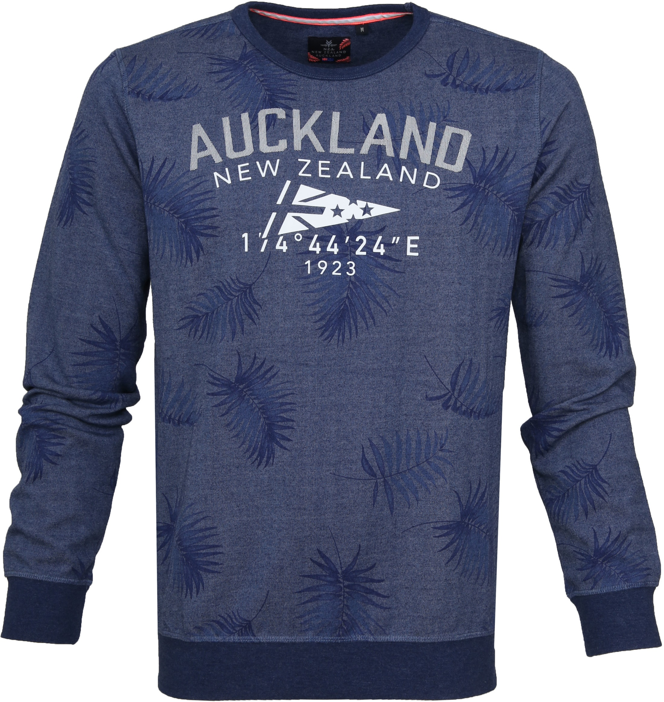 NZA Sweater Tahakopa Blue foto 0