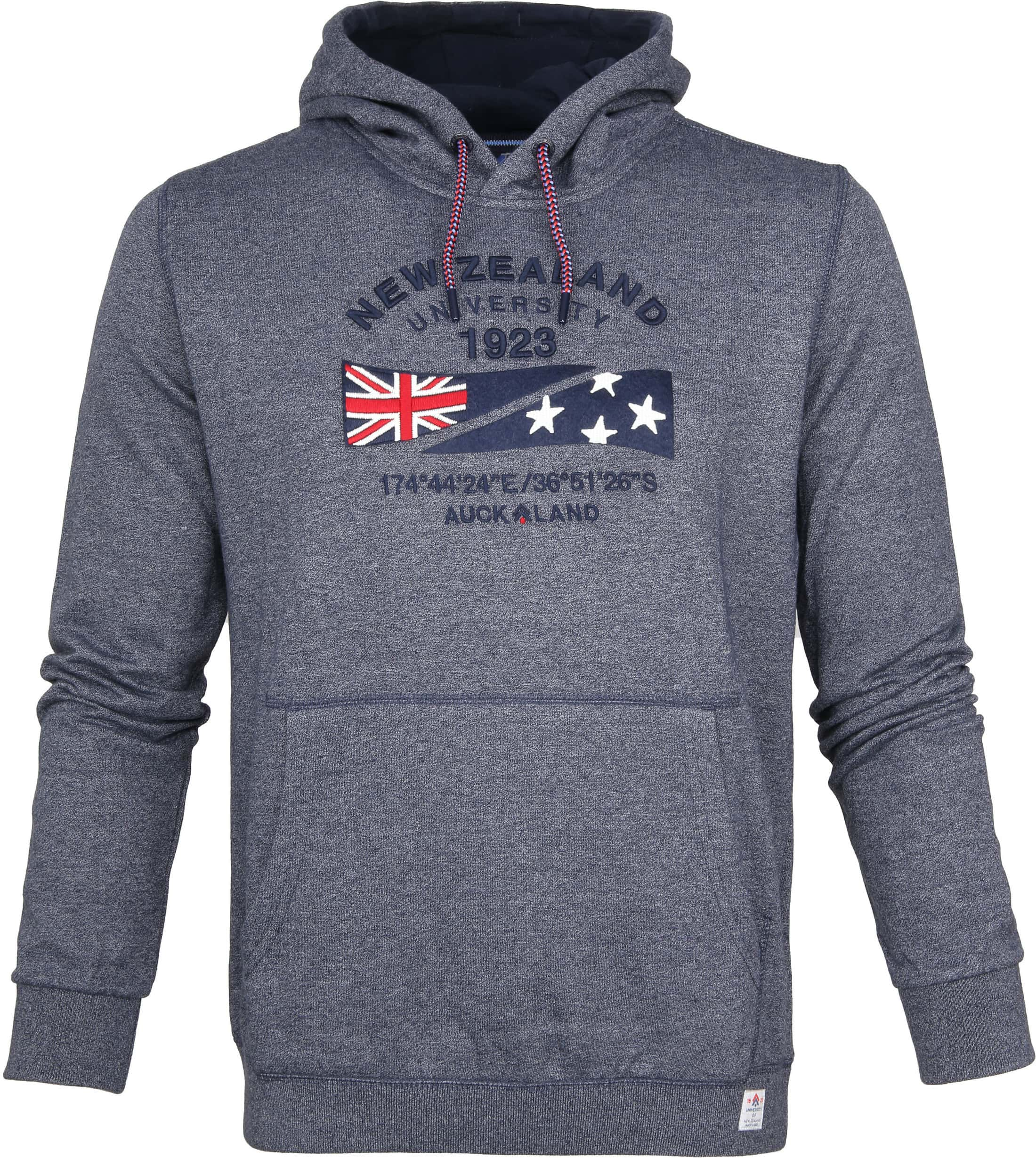NZA Sweater Tauraroa Navy foto 0