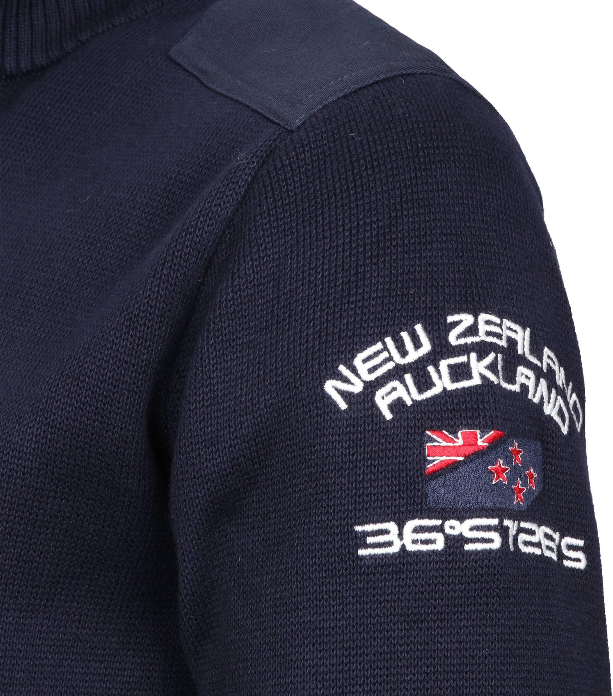 NZA Taupaki Zipper Navy foto 3