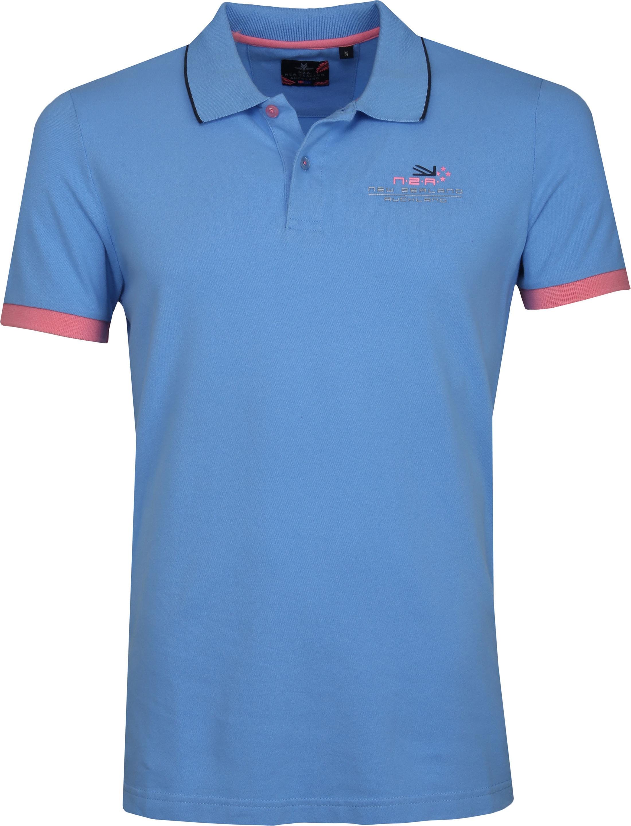 NZA Wahapo Poloshirt Blauw foto 0