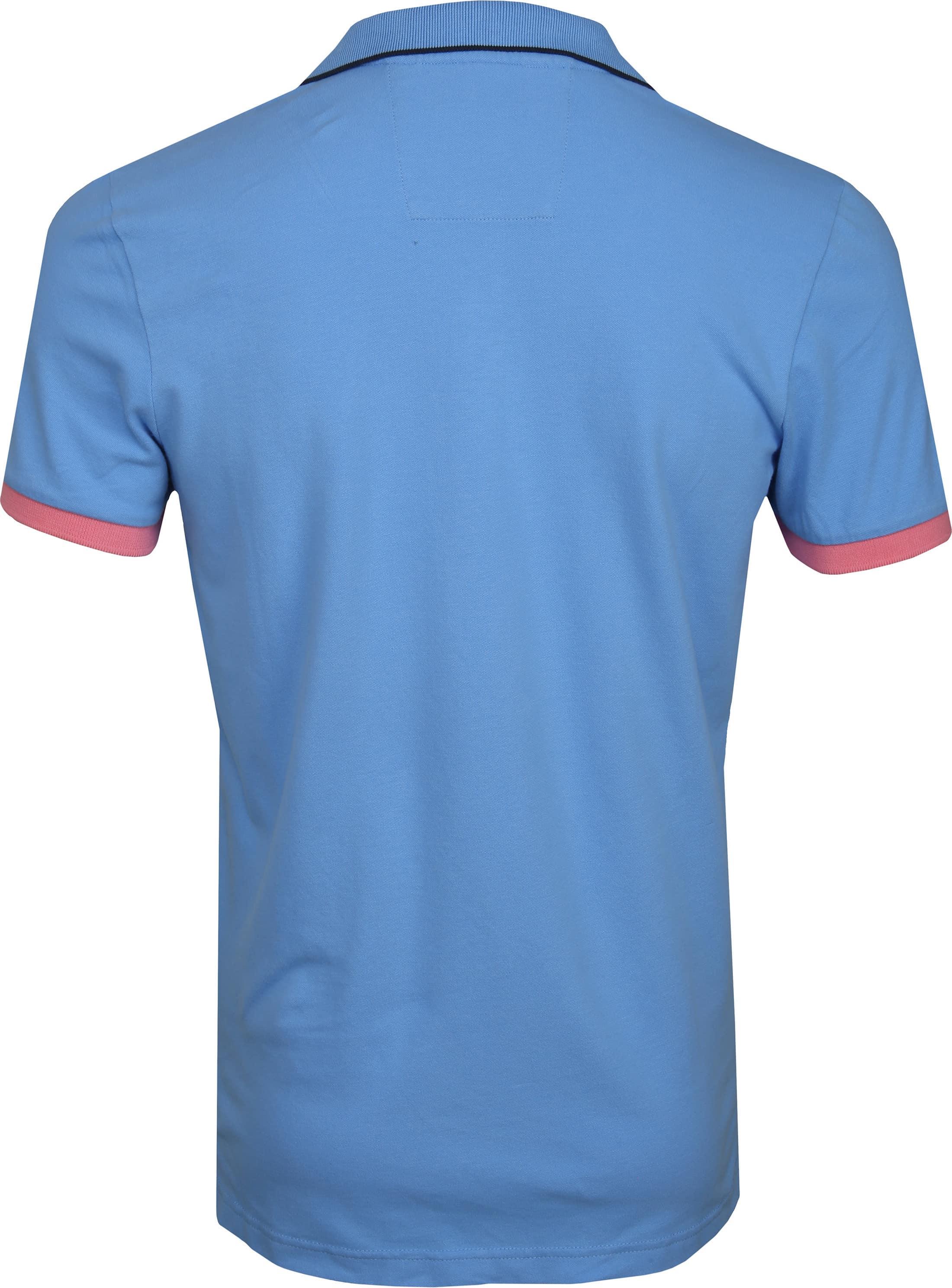 NZA Wahapo Poloshirt Blauw foto 3