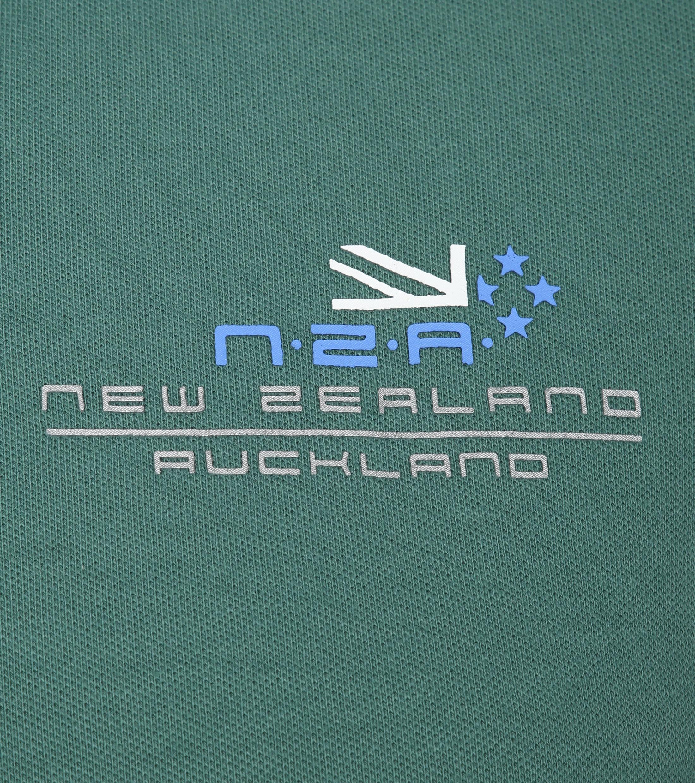 NZA Wahapo Poloshirt Groen foto 2