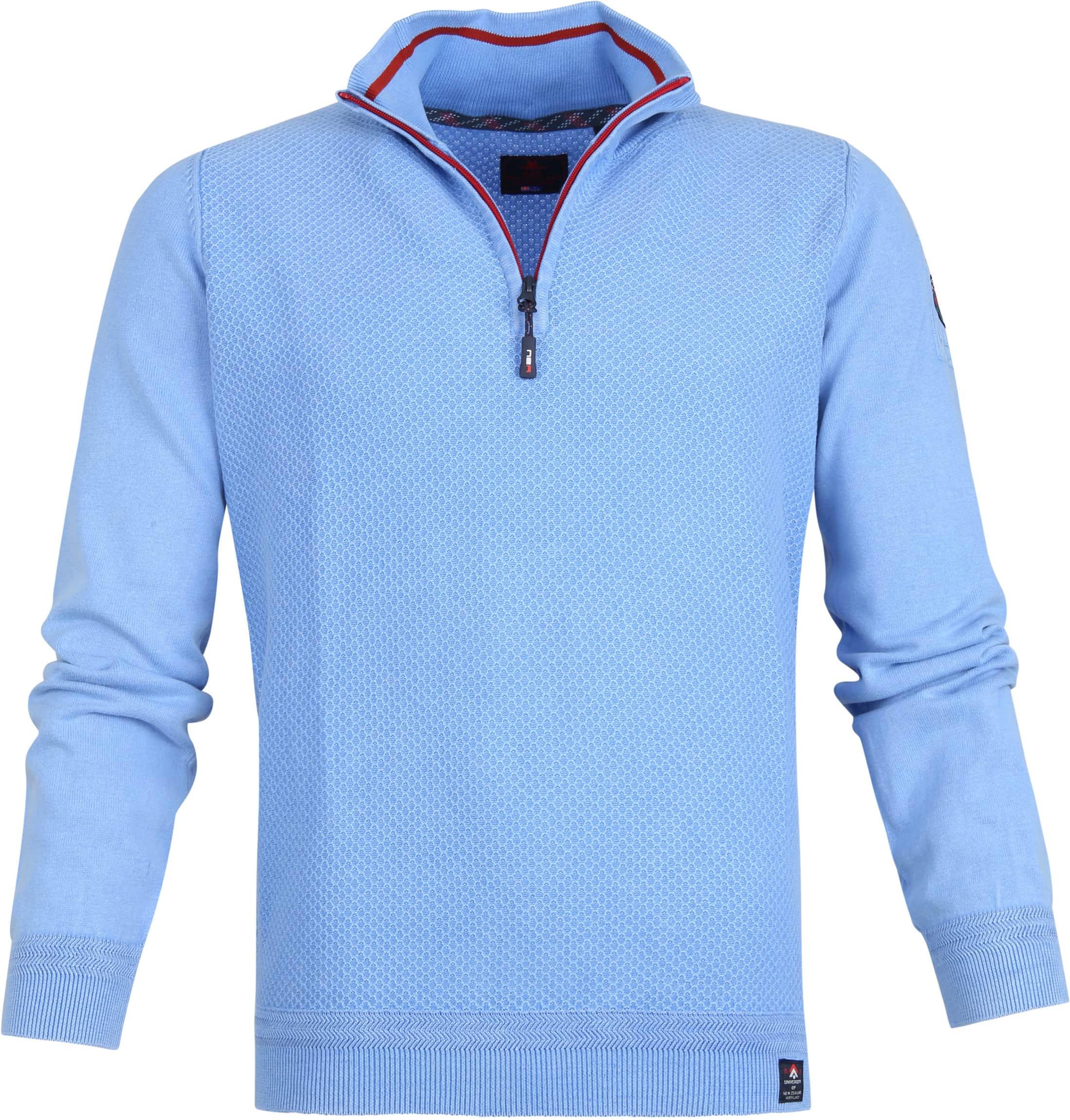 NZA Waihara Zipper Blue foto 0