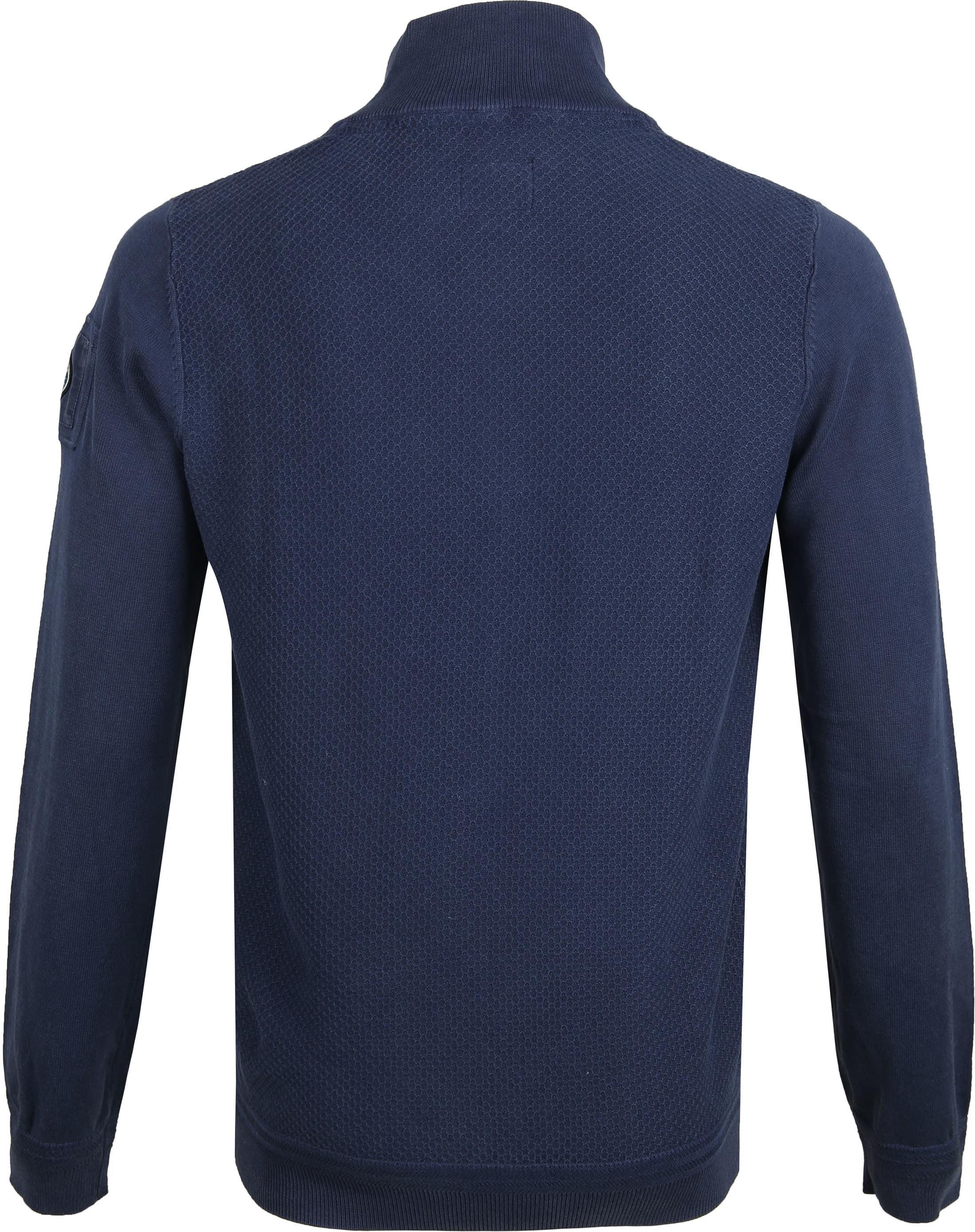 NZA Waihara Zipper Pullover Navy foto 3
