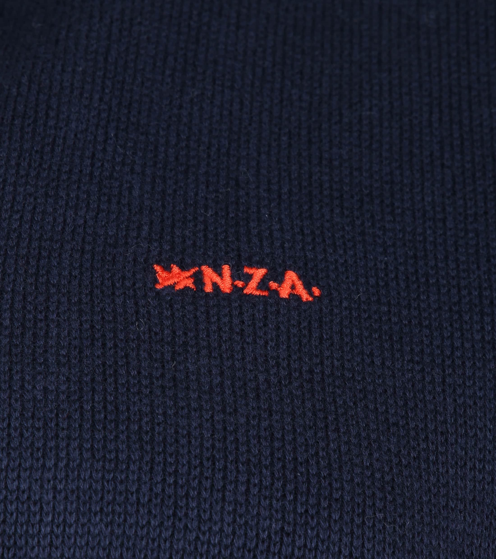 NZA Waikamaka Zipper Pull Navy foto 3