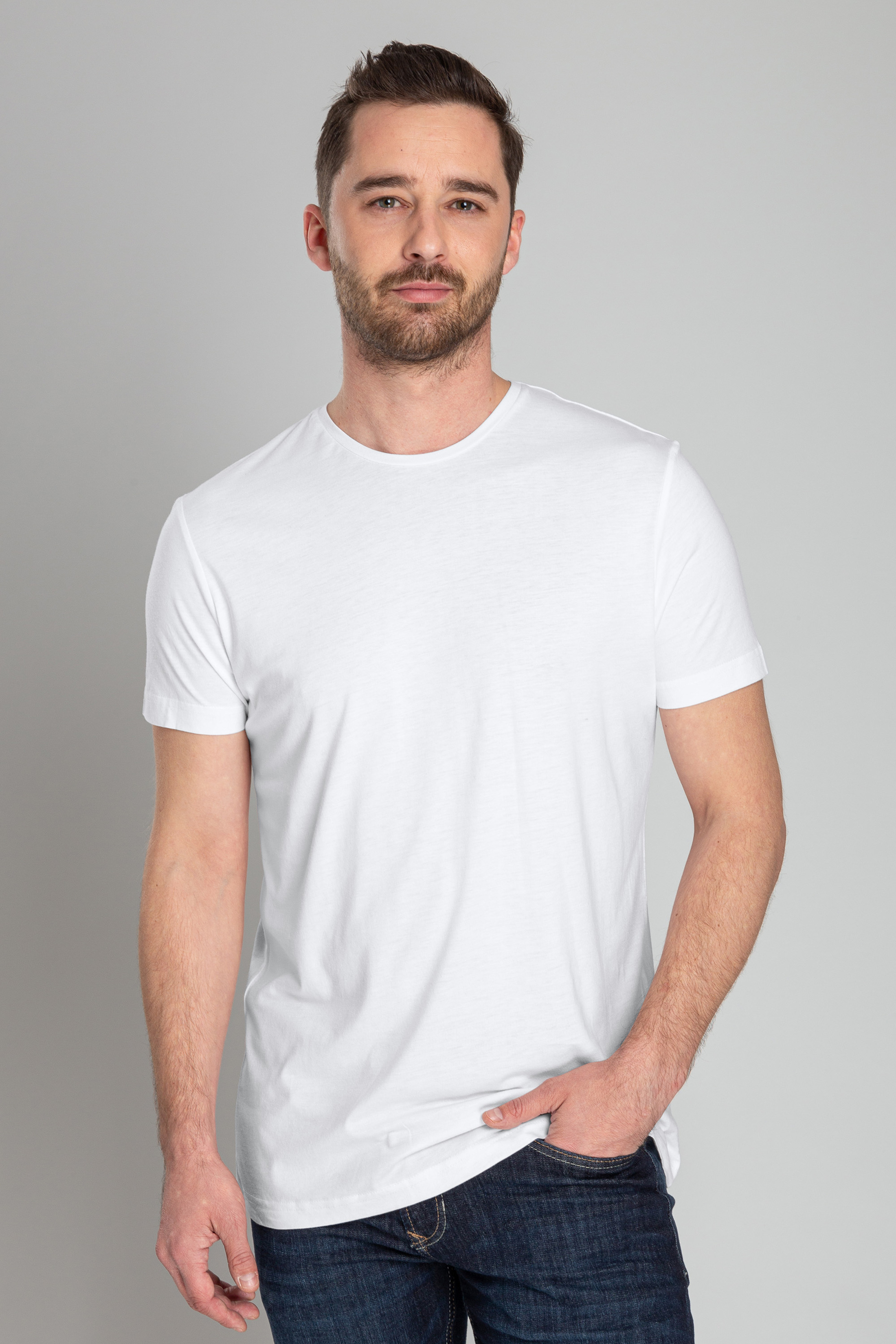 O-Neck 6-Pack Bamboo T-shirts foto 3
