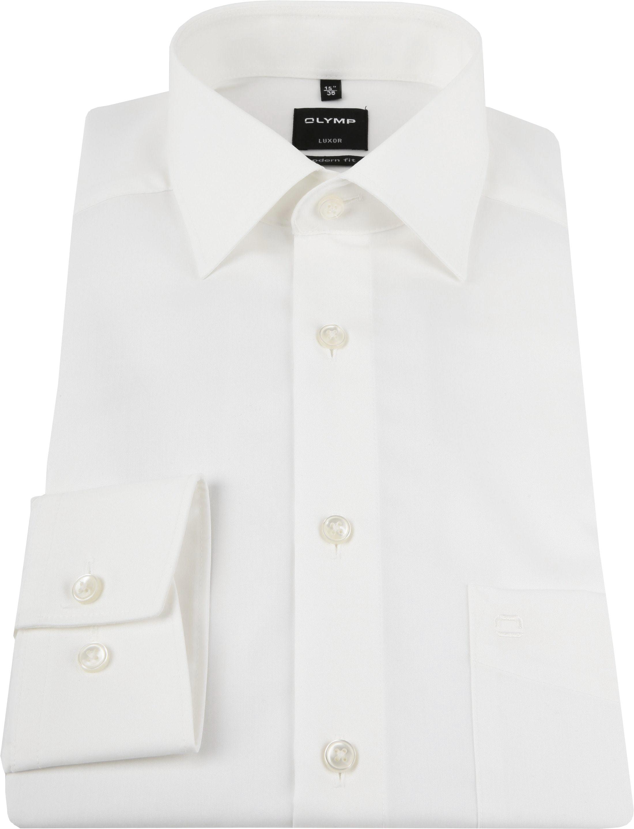 Olymp 7 Sleeve Wedding Shirt Ecru foto 2