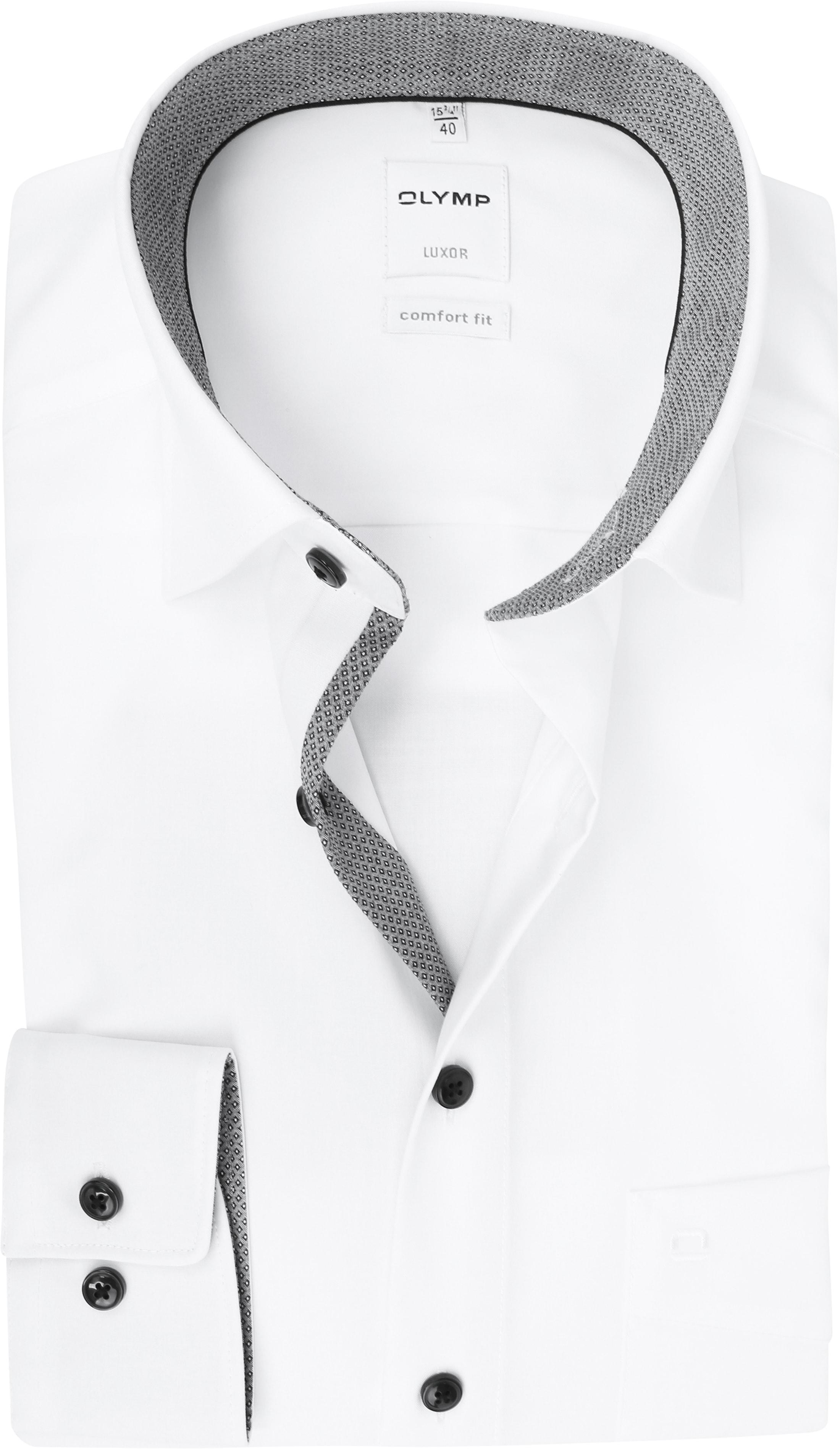 OLYMP CF Luxor White Shirt photo 0