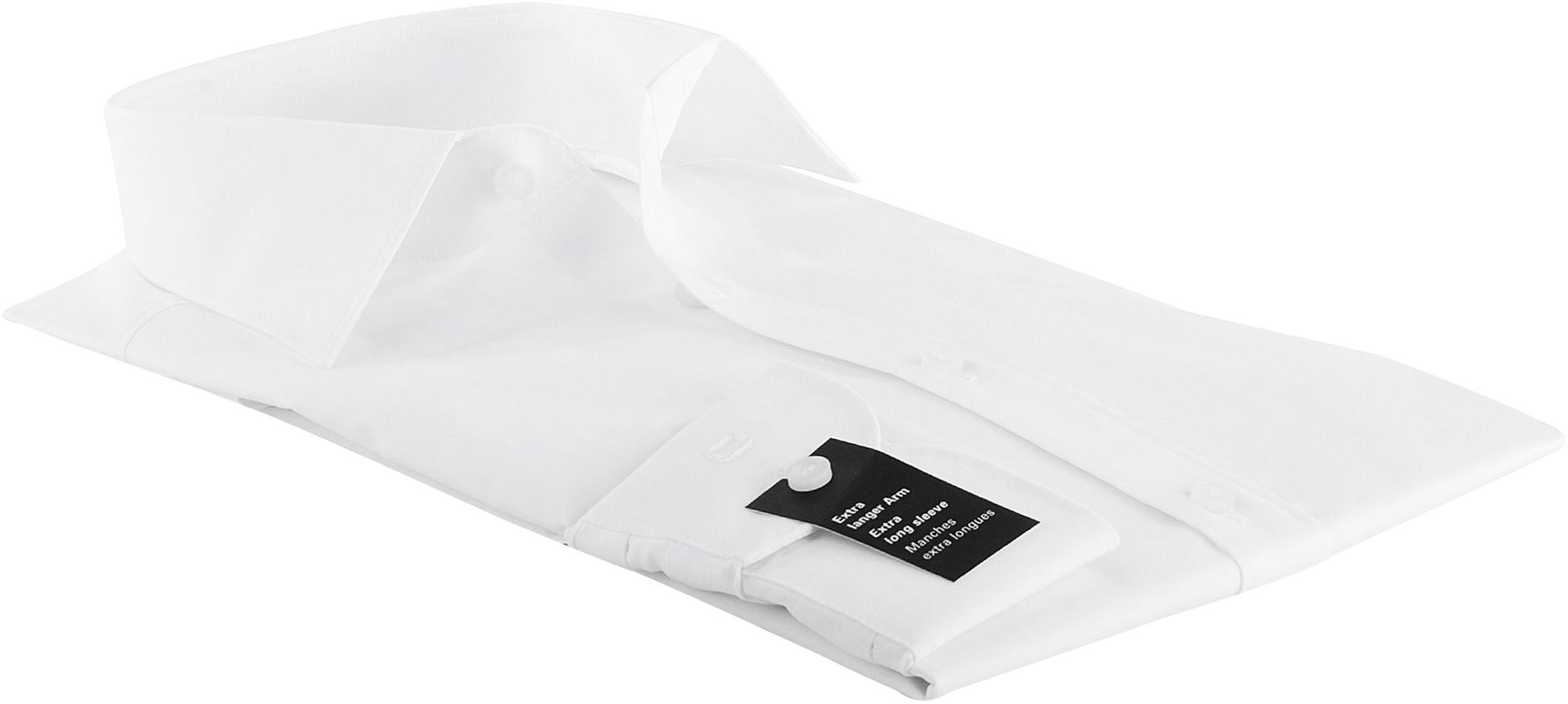 OLYMP Level Five Hemd SL7 Weiß Body Fit