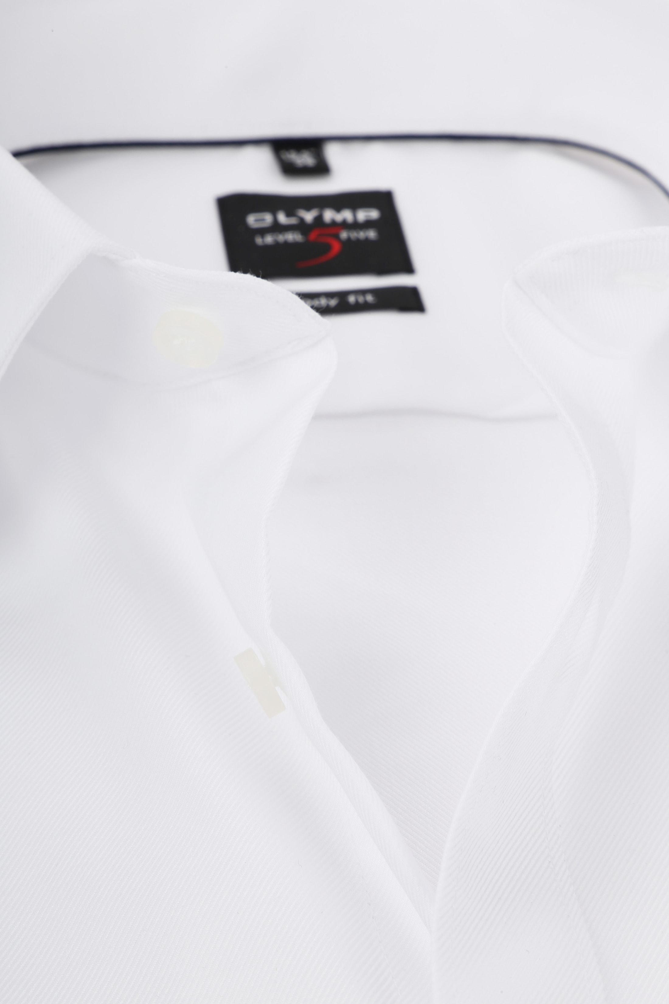 OLYMP Level Five Overhemd Wit foto 1