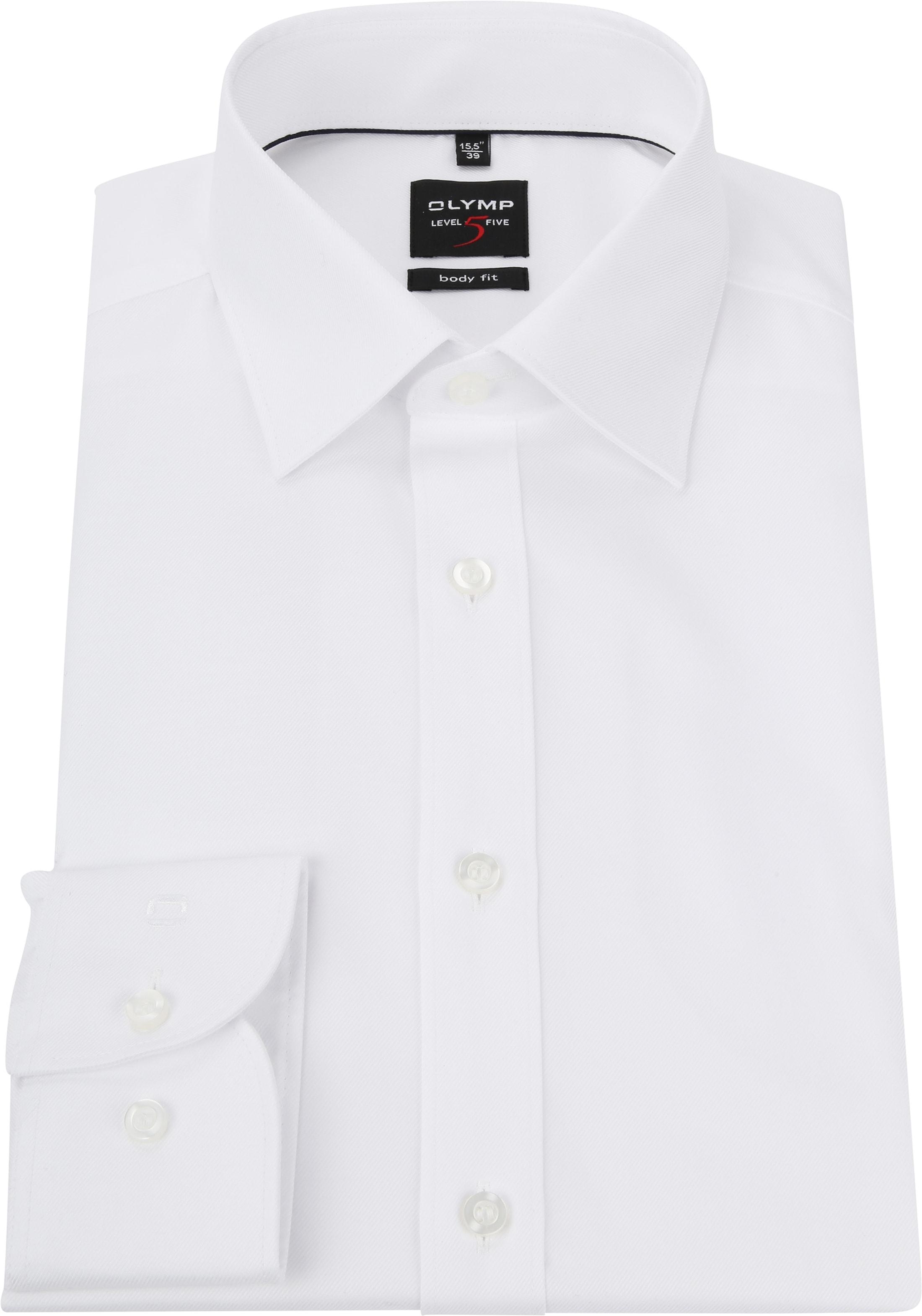 OLYMP Level Five Overhemd Wit foto 2