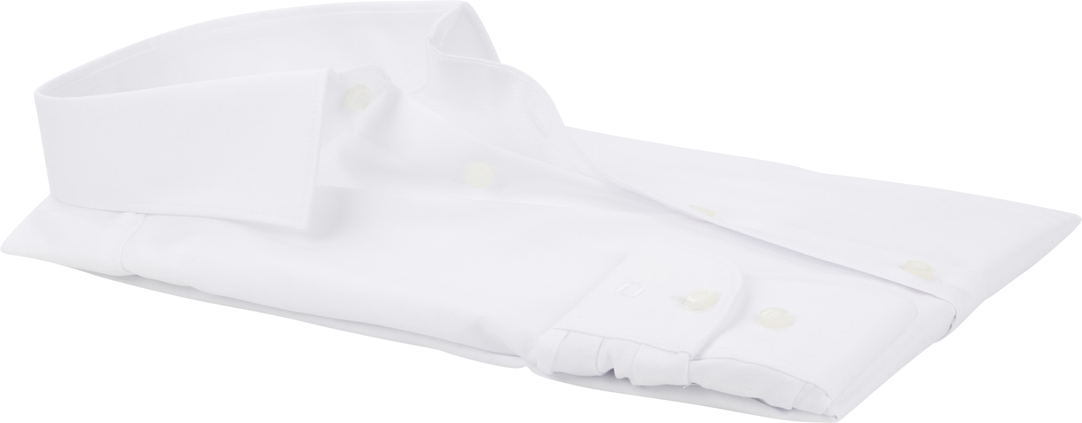 OLYMP Level Five Overhemd Wit foto 3
