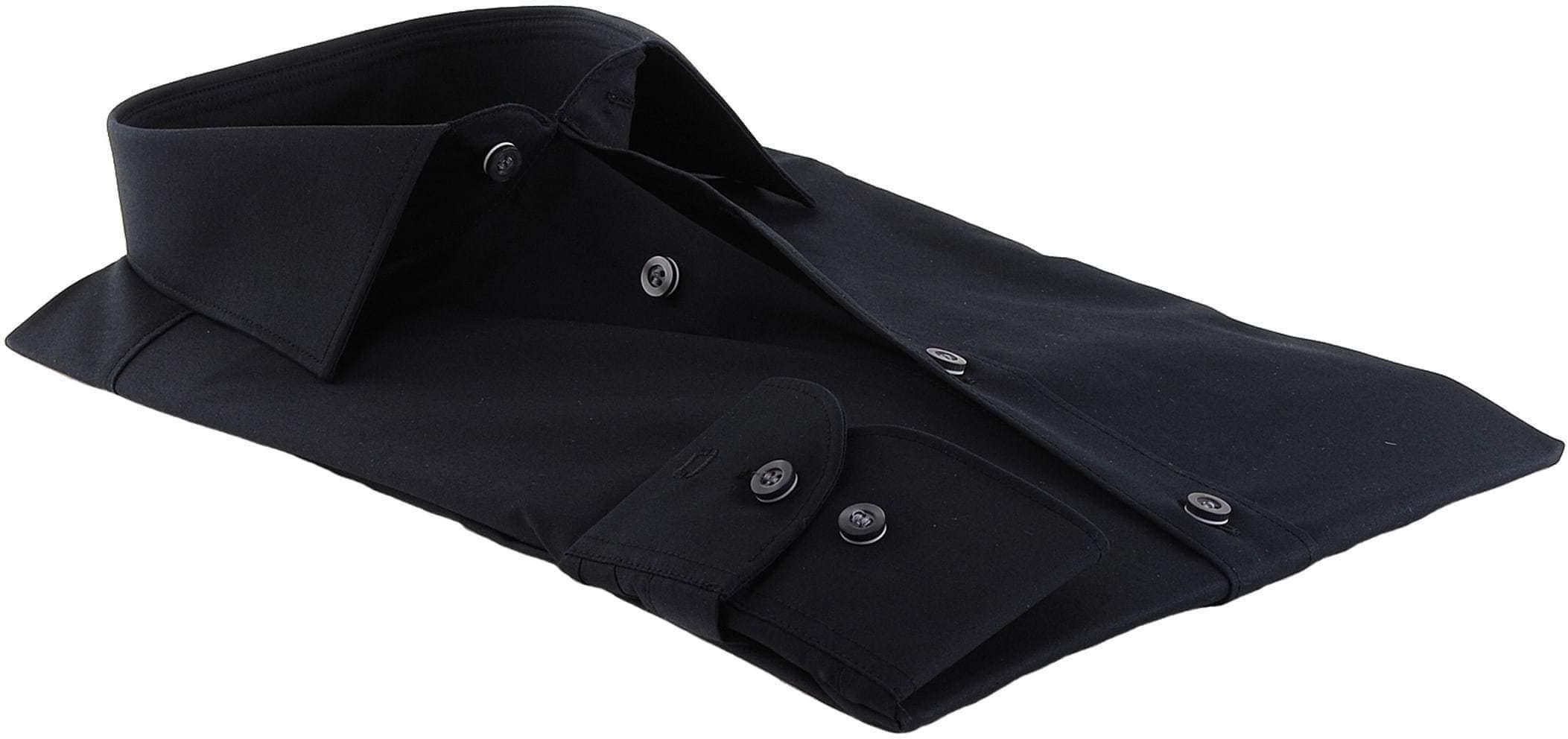 Olymp Level Five Shirt Body-Fit Black foto 1