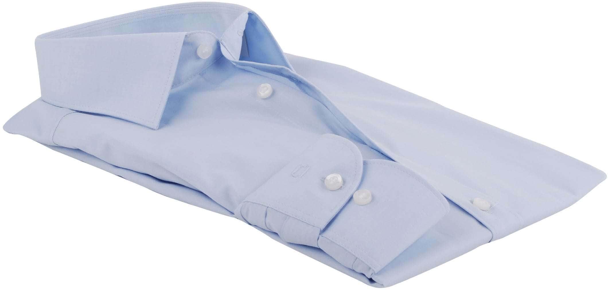 Olymp Level Five Shirt Body-fit Light Blue foto 1