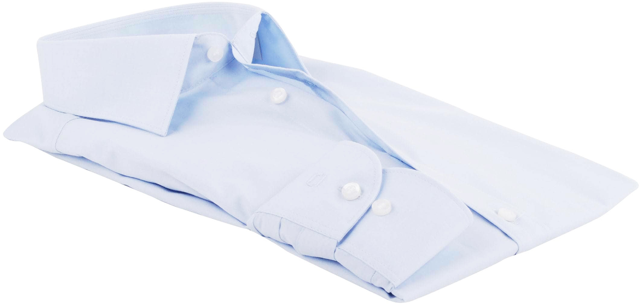 Olymp Level Five Shirt Body-fit Light Blue