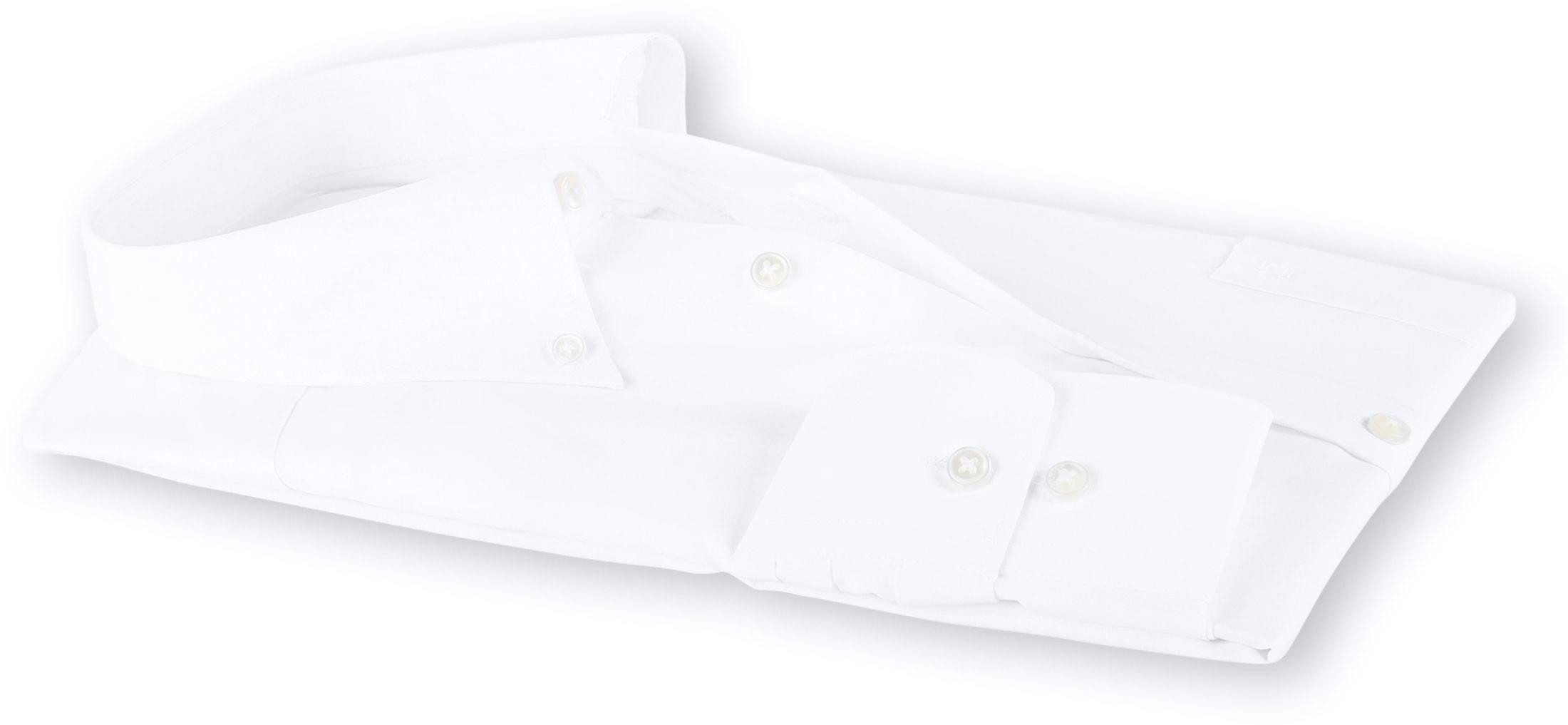 OLYMP Luxor Bügelfrei Hemd Weiß Comfort Fit foto 3
